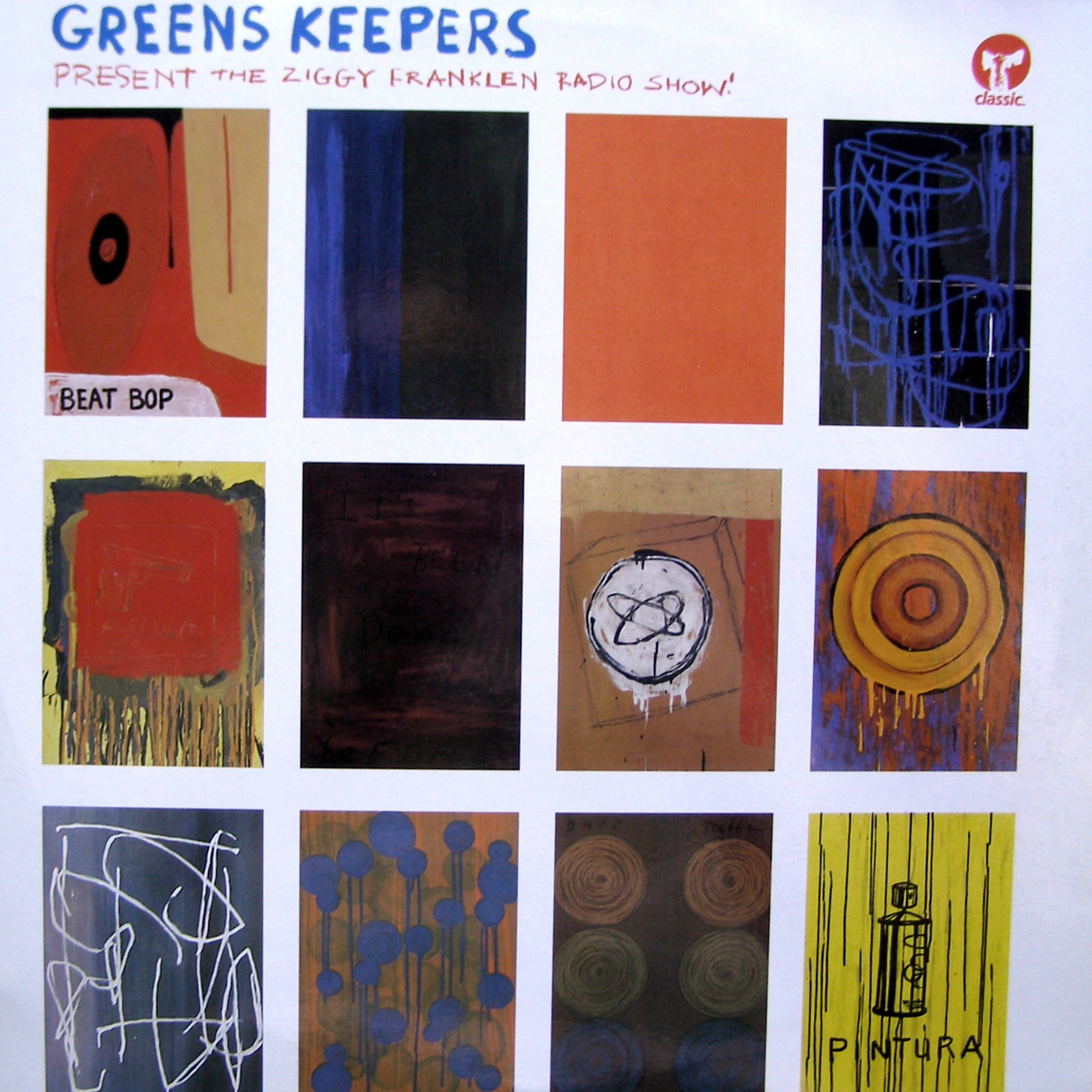 "2x12"" Greens Keepers ‎– Greens Keepers Present The Ziggy Franklen Radio Show"