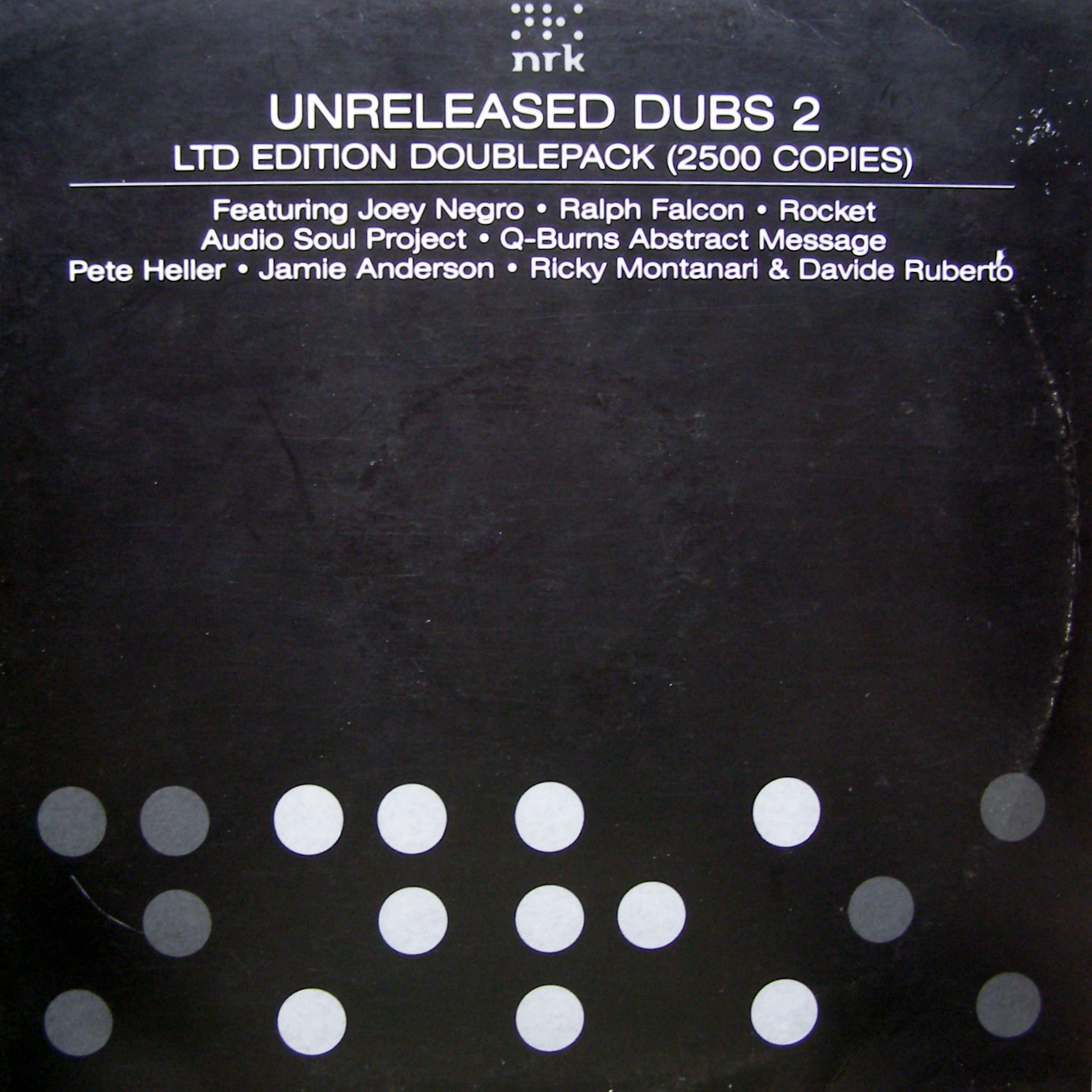 "2x12"" Various ‎– Unreleased Dubs 2"