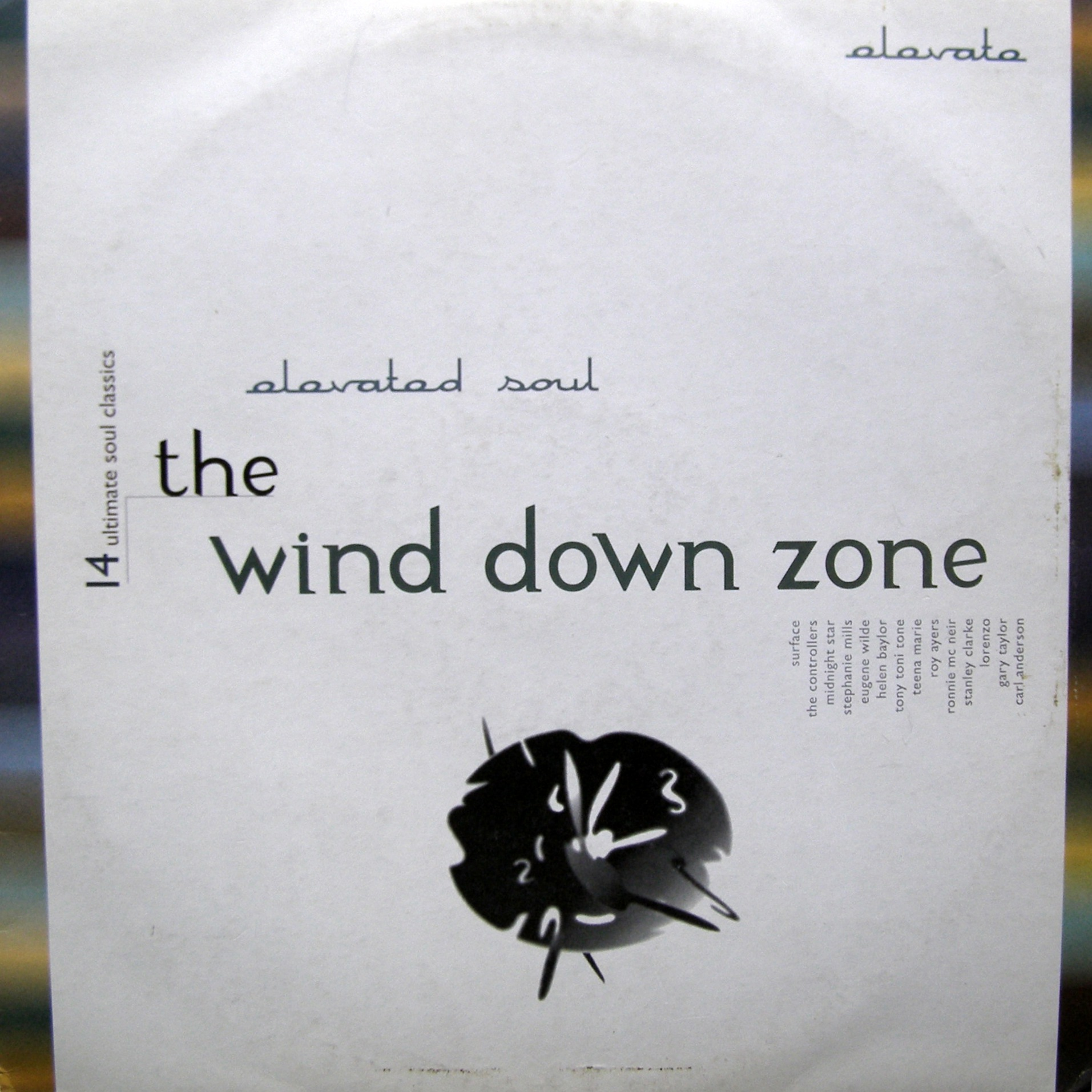 "2x12"" Various ‎– The Wind Down Zone"