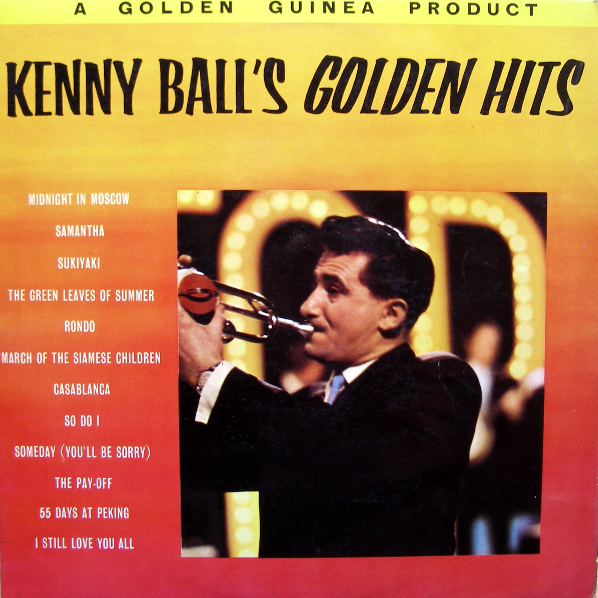 LP Kenny Ball And His Jazzmen ‎– Kenny Ball's Golden Hits