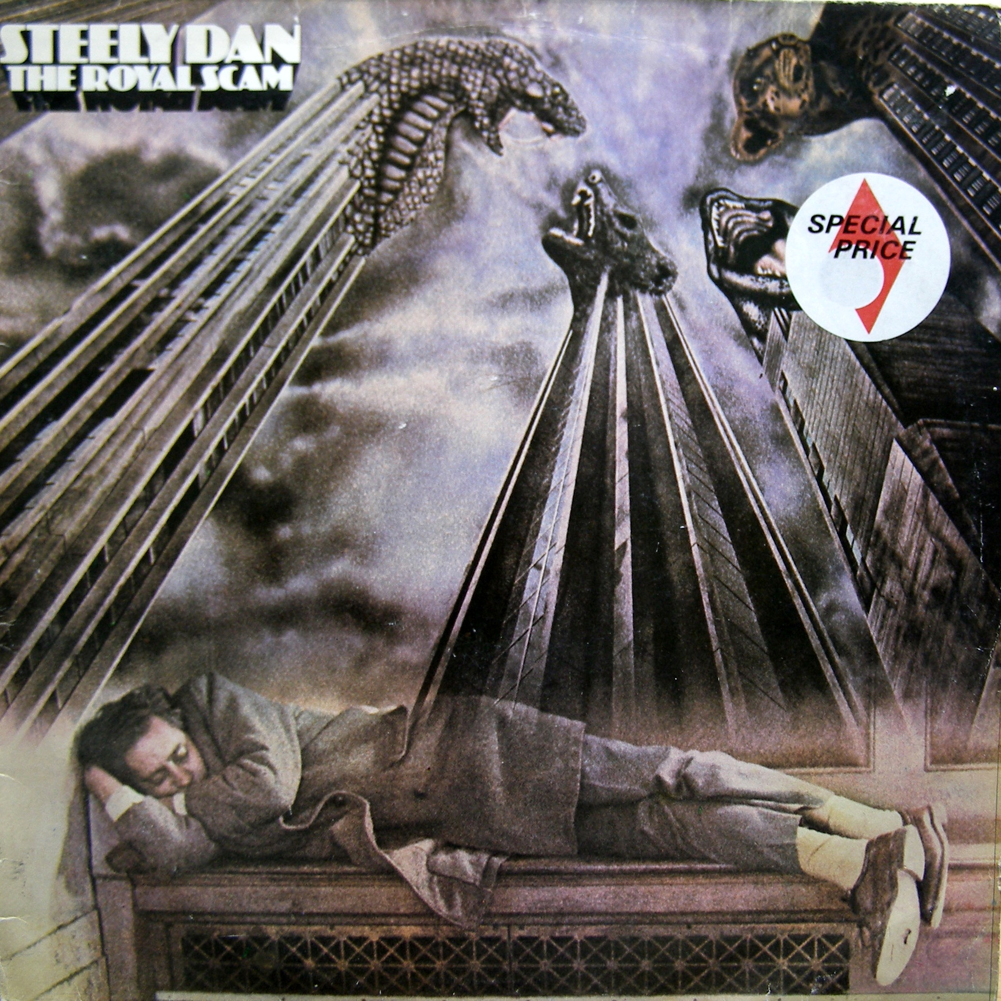 LP Steely Dan ‎– The Royal Scam