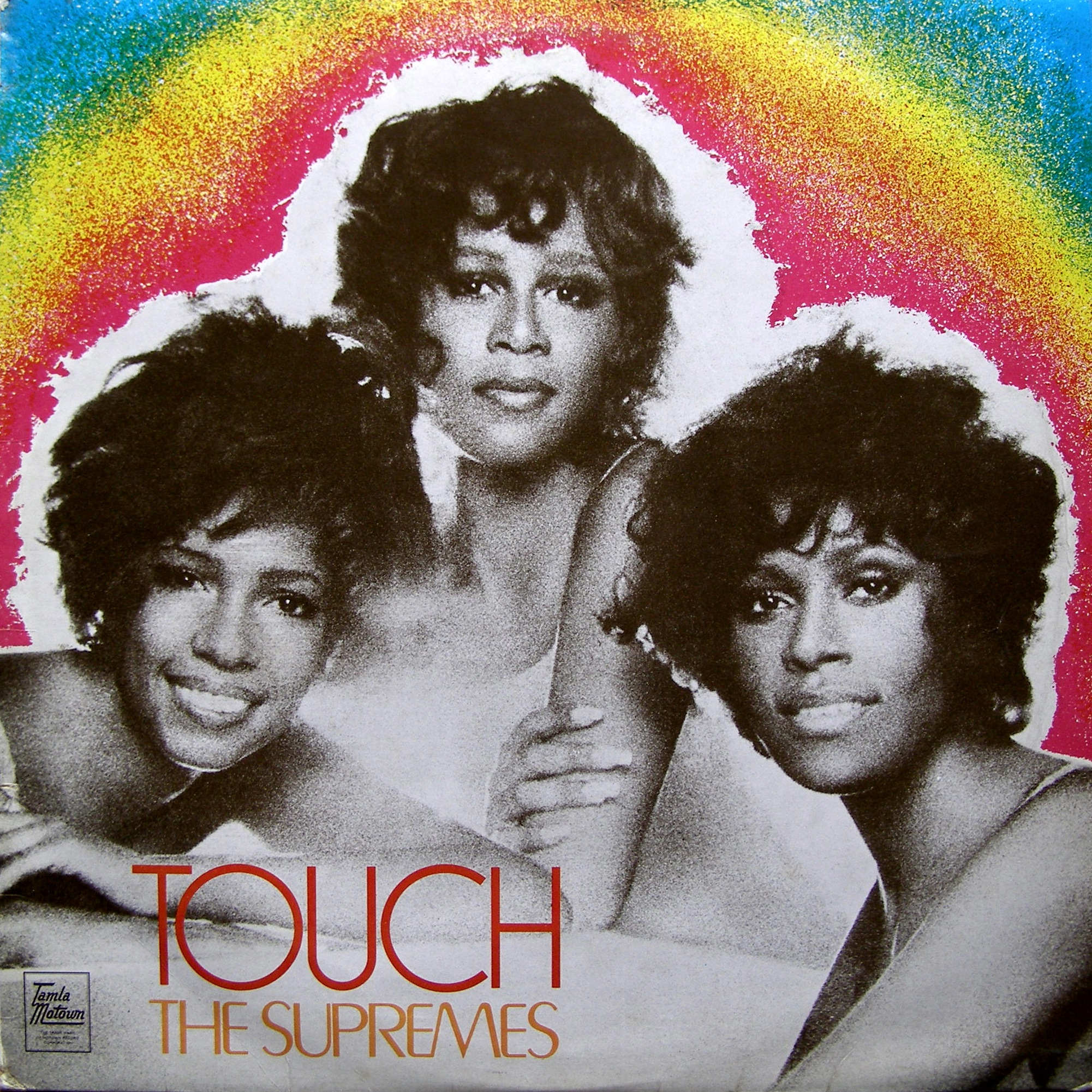 LP The Supremes ‎– Touch