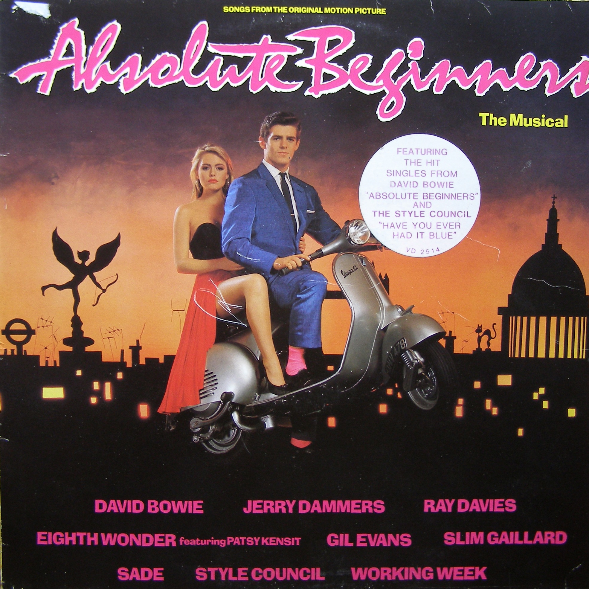 LP Various ‎– Absolute Beginners (Songs From The Original Motion Picture)