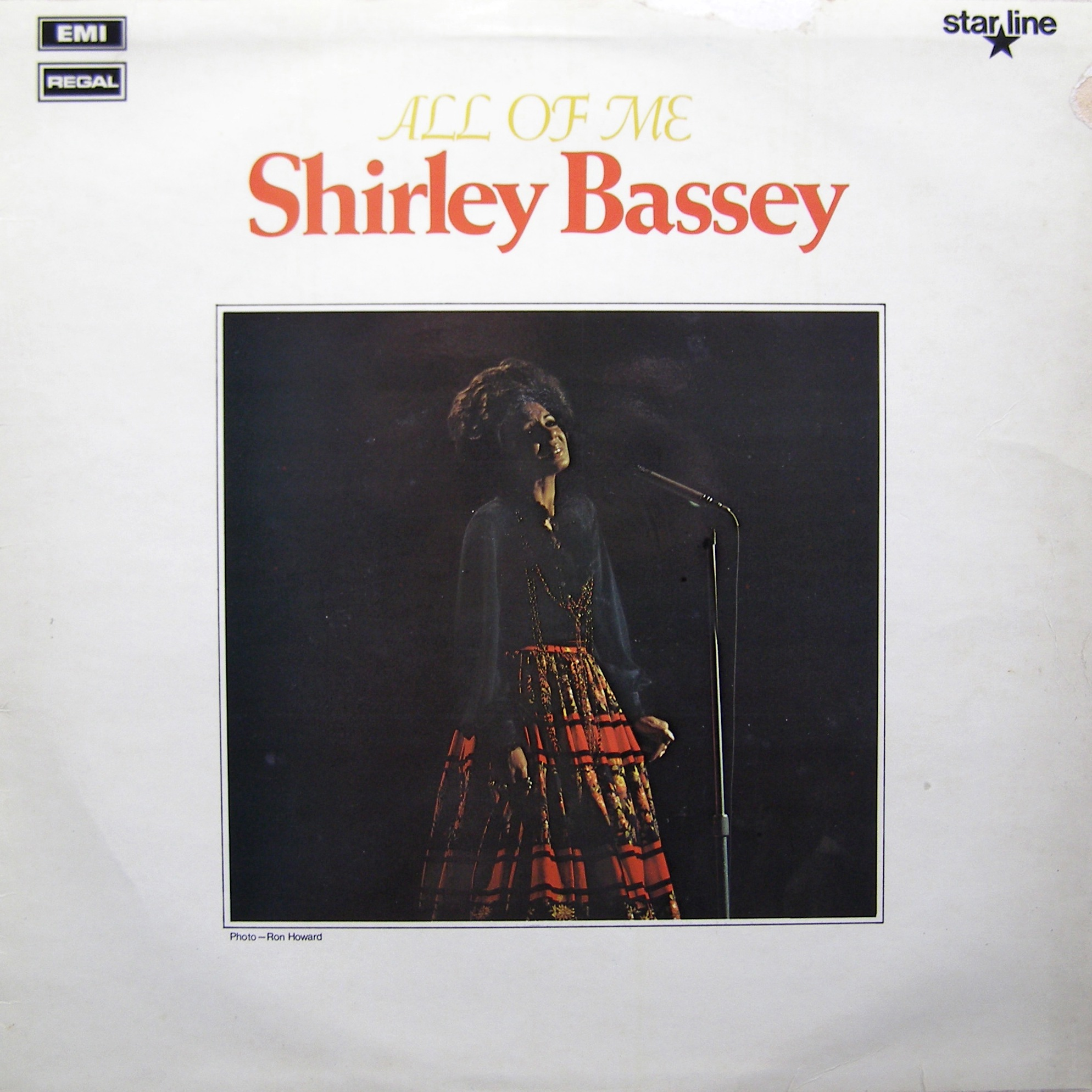 LP Shirley Bassey ‎– All Of Me