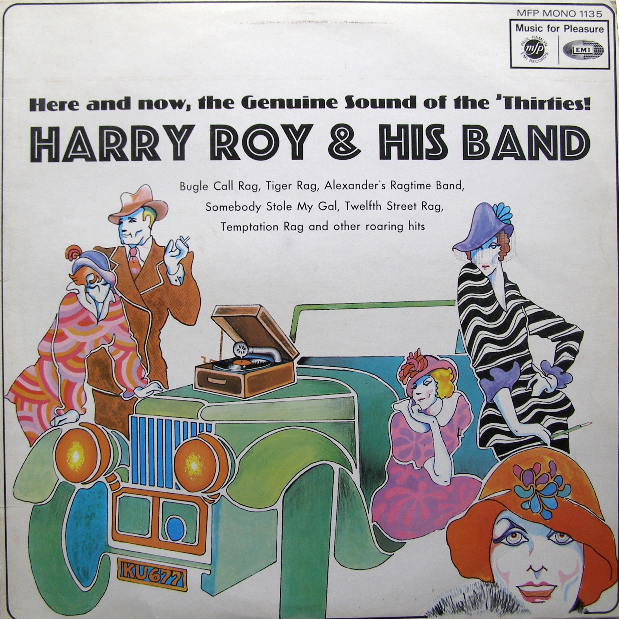 LP Harry Roy & His Band ‎– Harry Roy & His Band