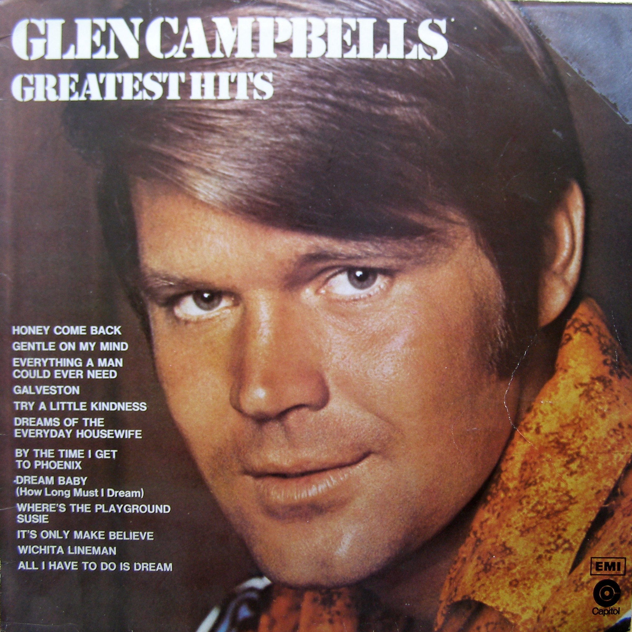 LP Glen Campbell ‎– Glen Campbell's Greatest Hits