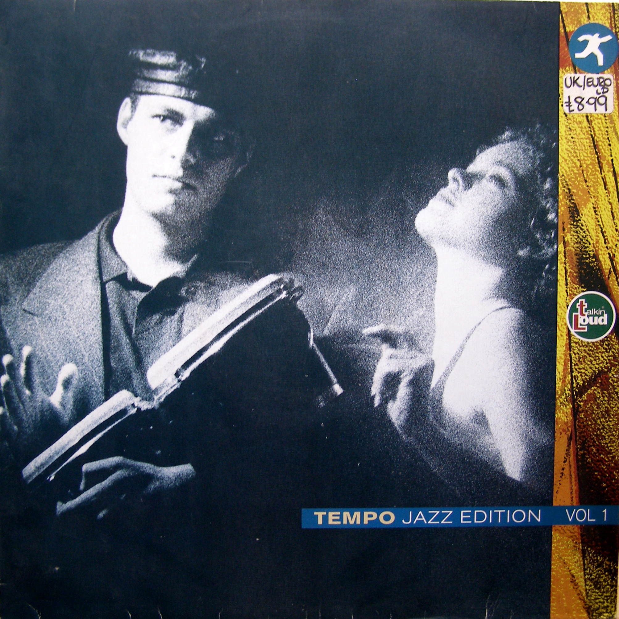 LP Various ‎– Tempo Jazz Edition Vol.1