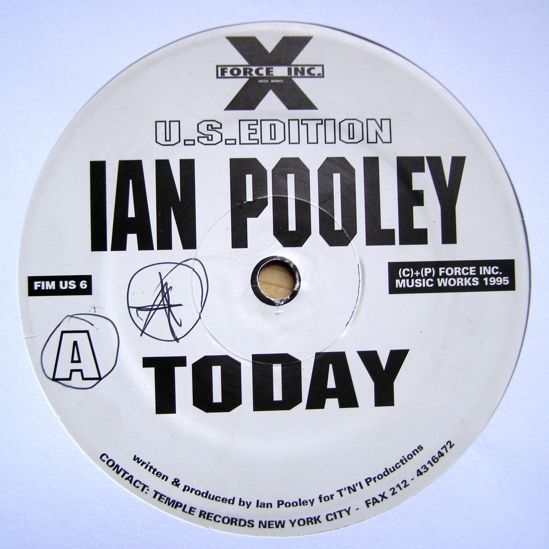 "12"" Ian Pooley ‎– Today"