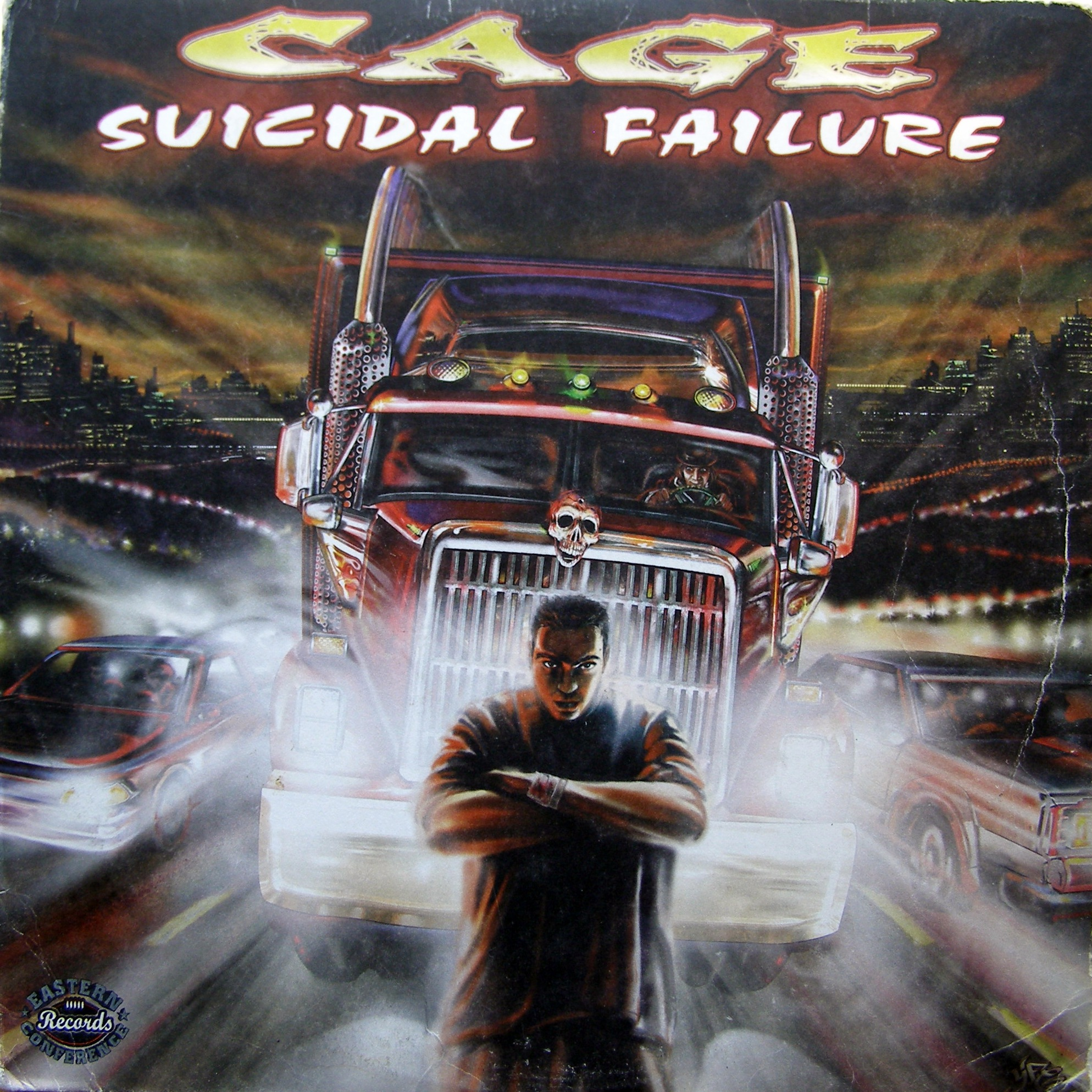 "12"" Cage ‎– Suicidal Failure"