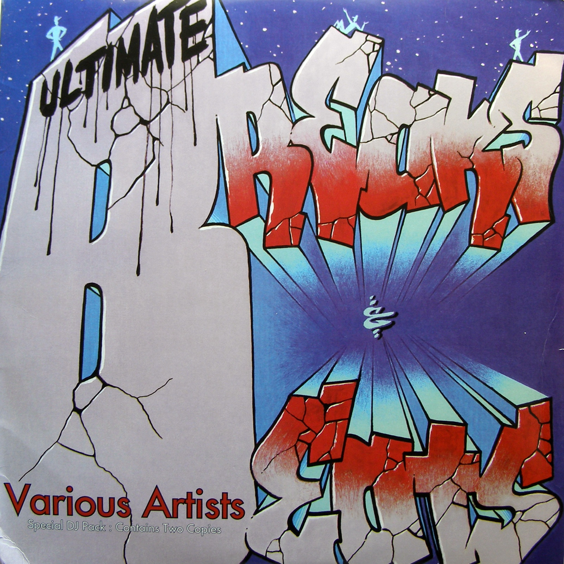 "2x12"" Various ‎– Ultimate Breaks & Beats"