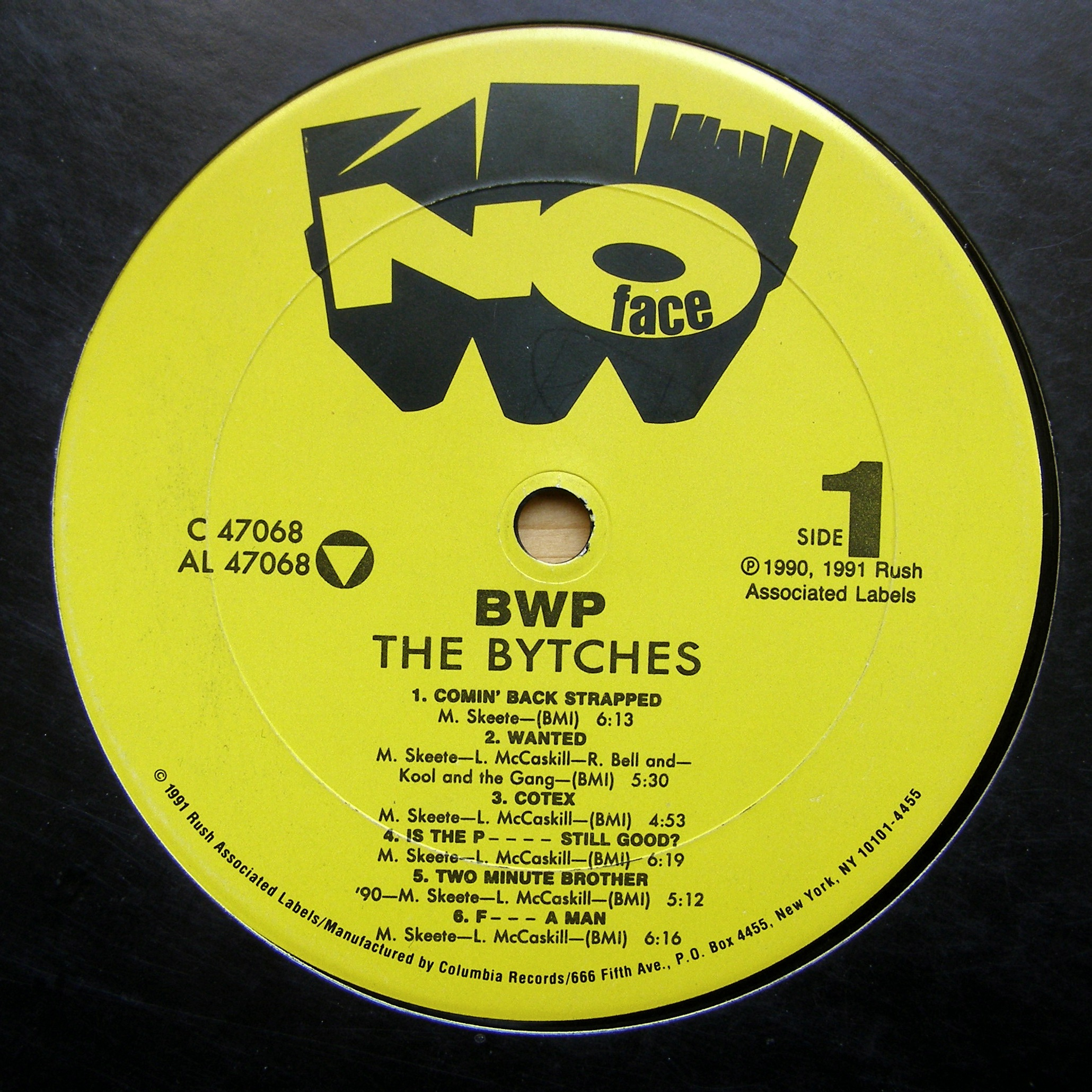 LP BWP ‎– The Bytches