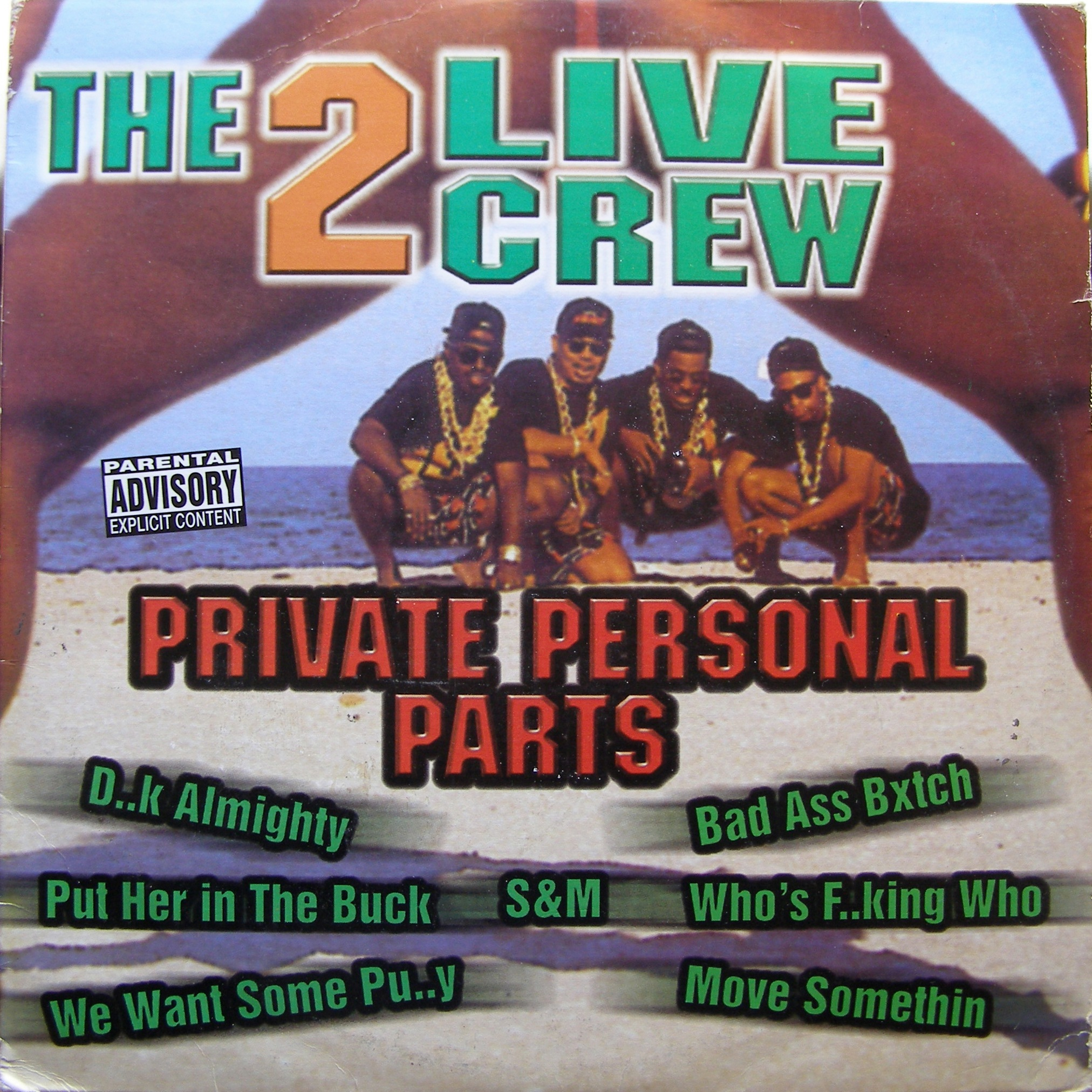 "12"" The 2 Live Crew ‎– Private Personal Parts"