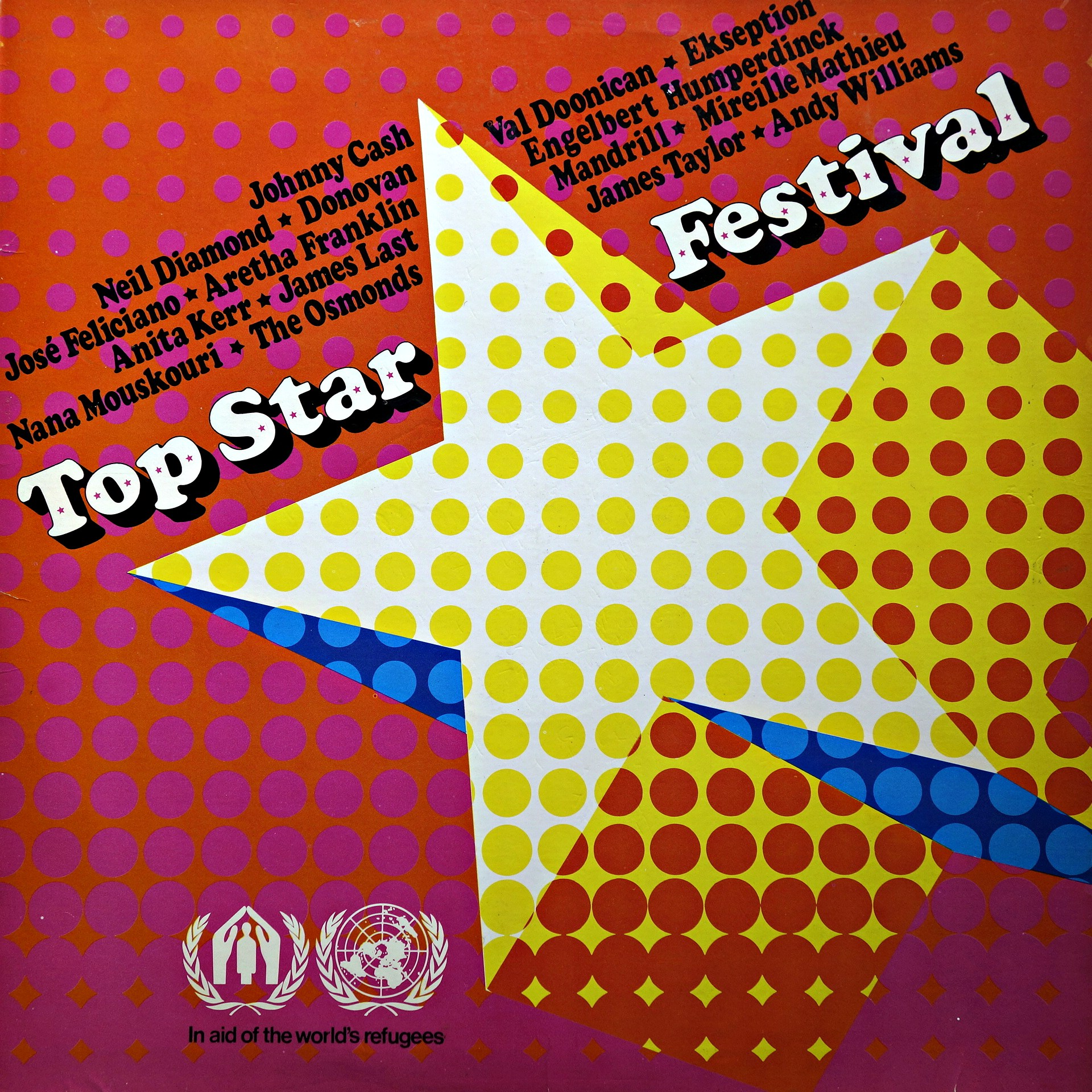 LP Various ‎– Top Star Festival