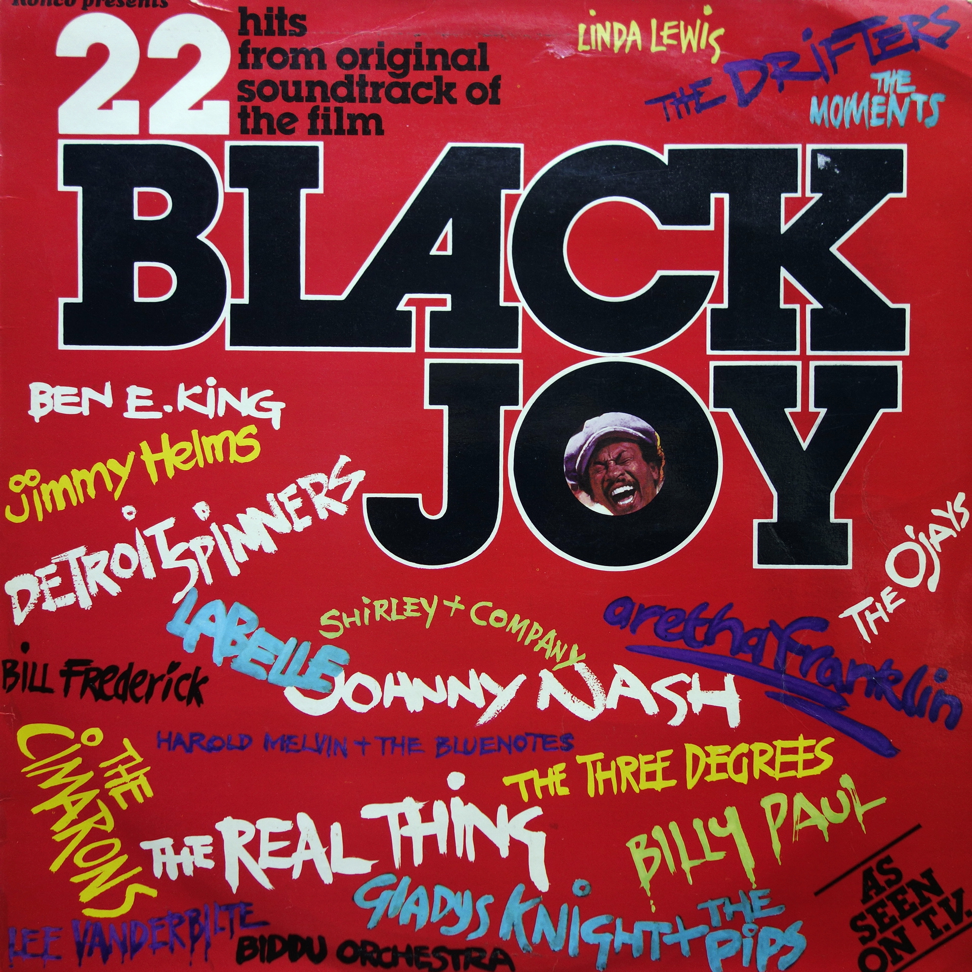 LP Various - Black Joy: 22 Hits From Original Soundtrack