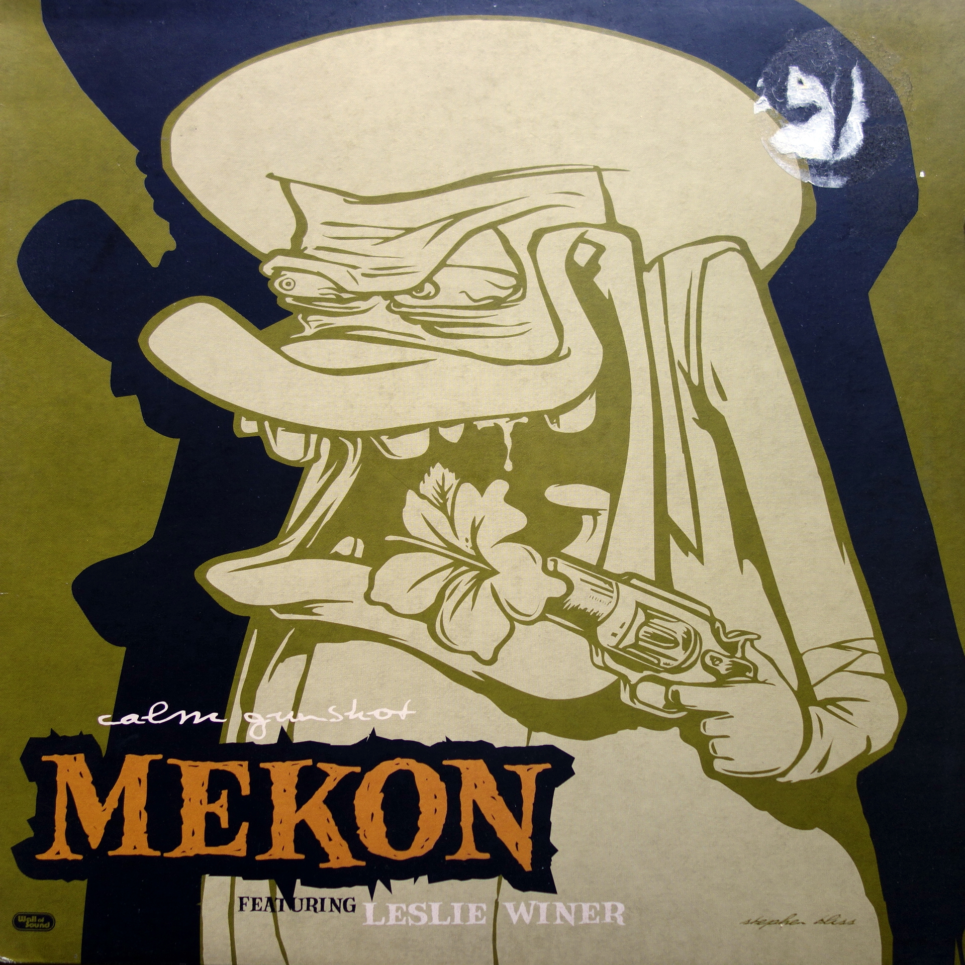"12"" Mekon - Calm Gunshot"