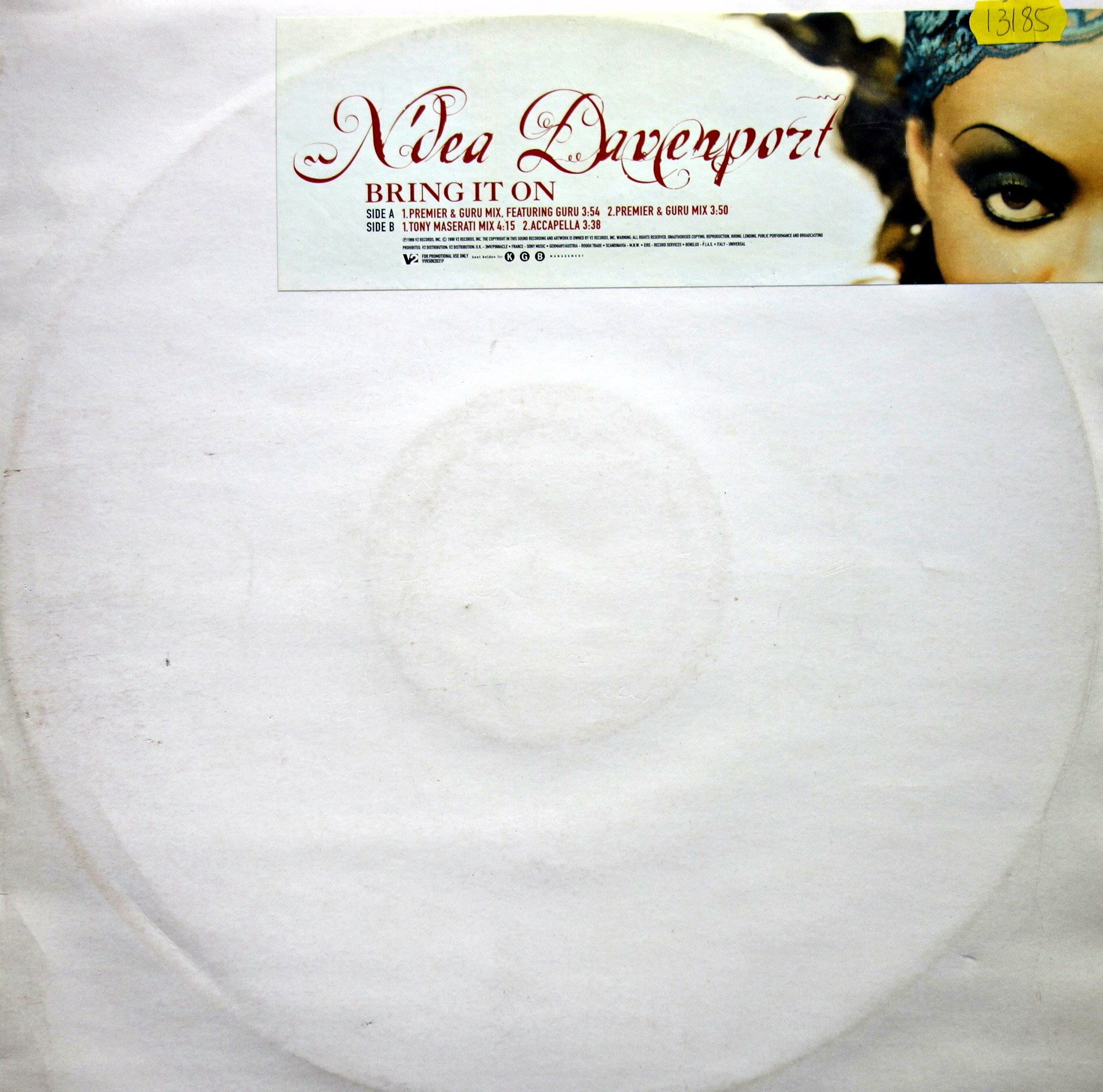 "12"" N'Dea Davenport ‎– Bring It On"