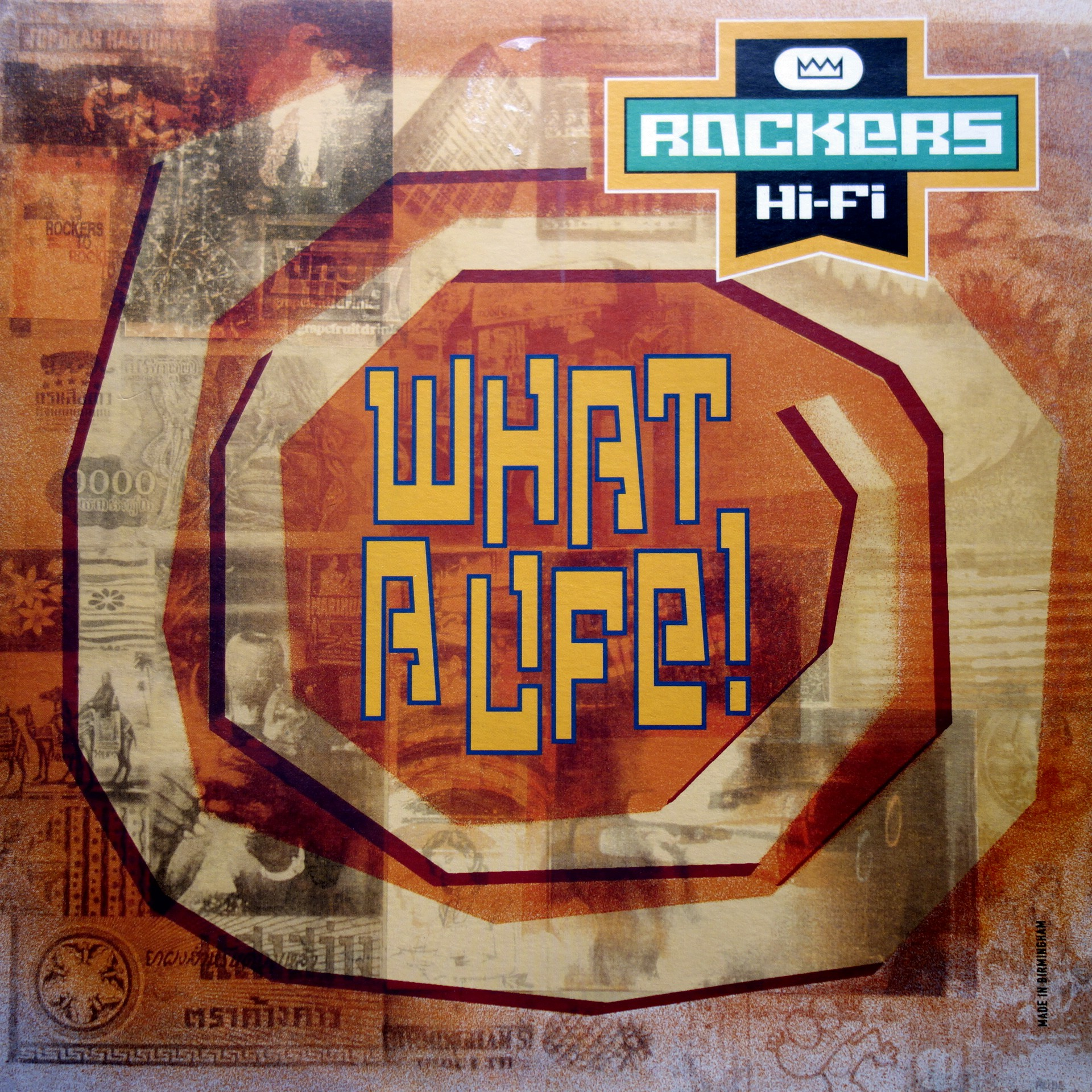 "12"" Rockers Hi-Fi ‎– What A Life!"