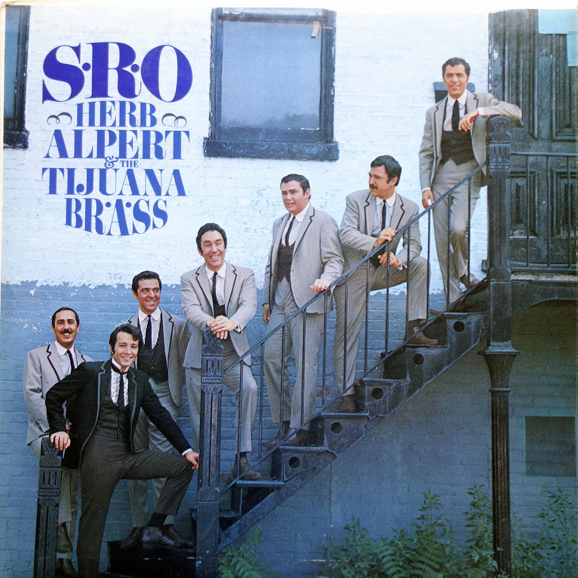 LP Herb Alpert & The Tijuana Brass ‎– S.R.O.