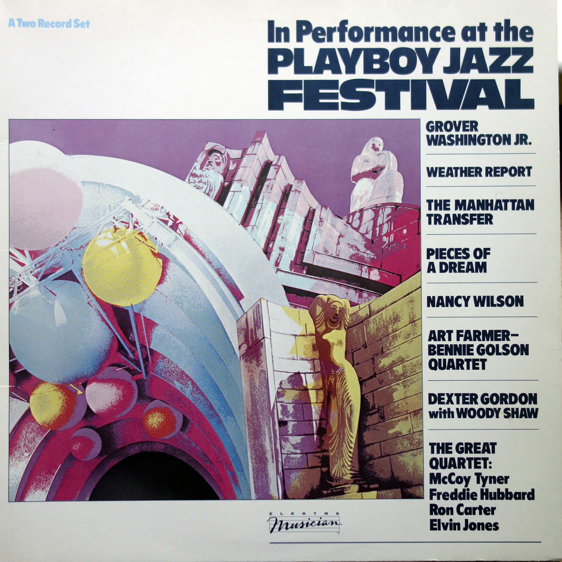 2xLP Various ‎– In Performance At The Playboy Jazz Festival