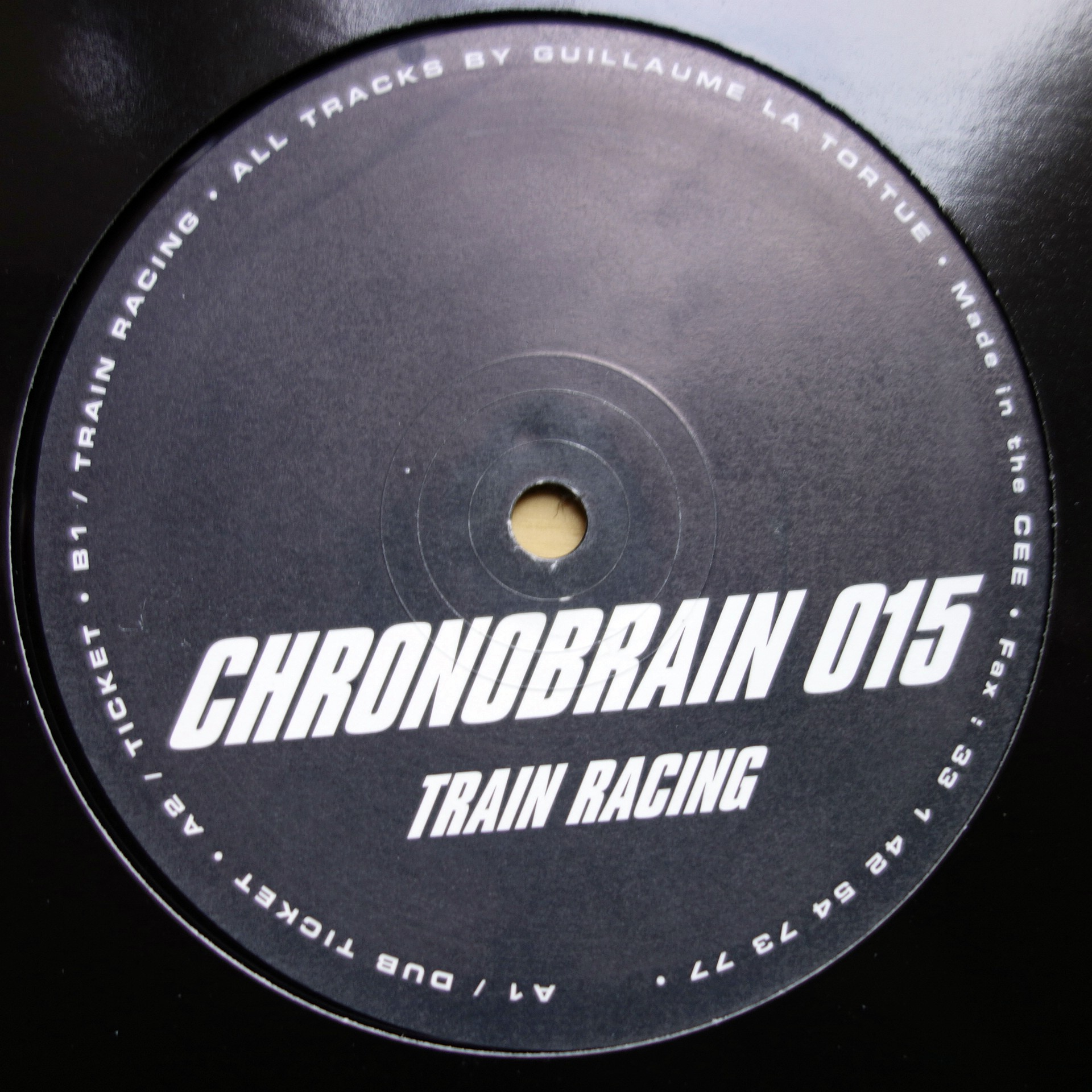 "12"" Guillaume La Tortue ‎– Train Racing"