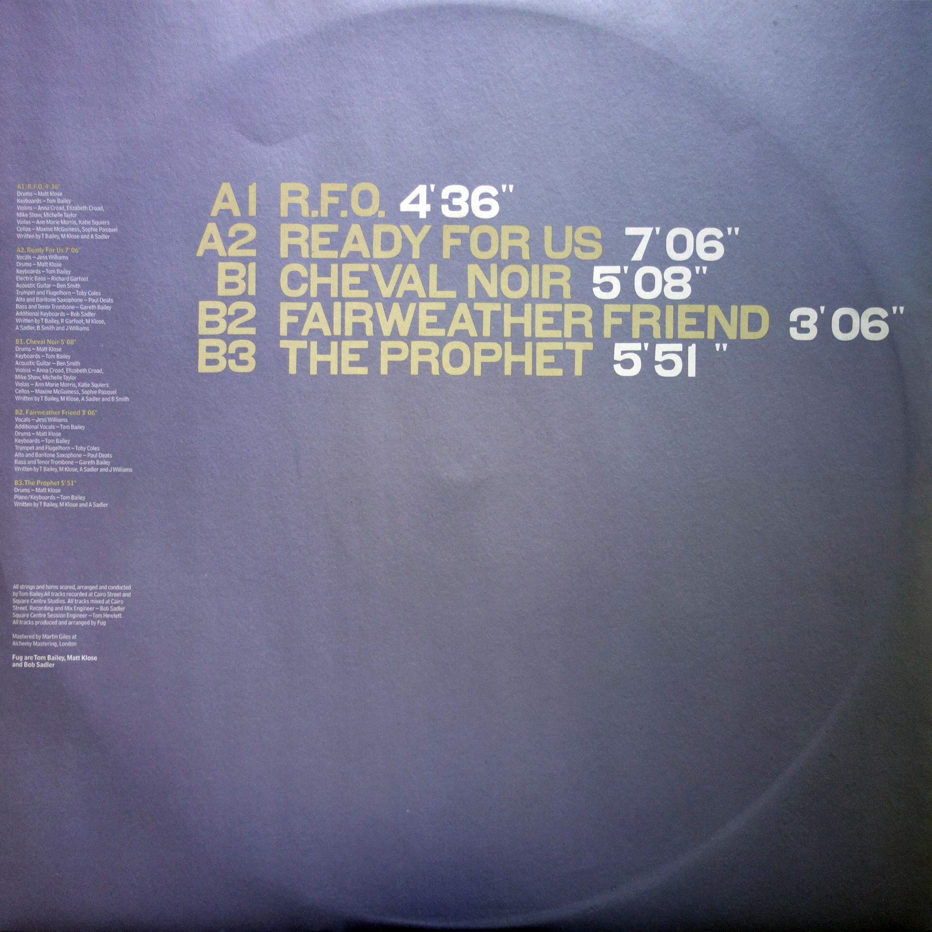 "2x12"" FUG ‎– Ready For Us"