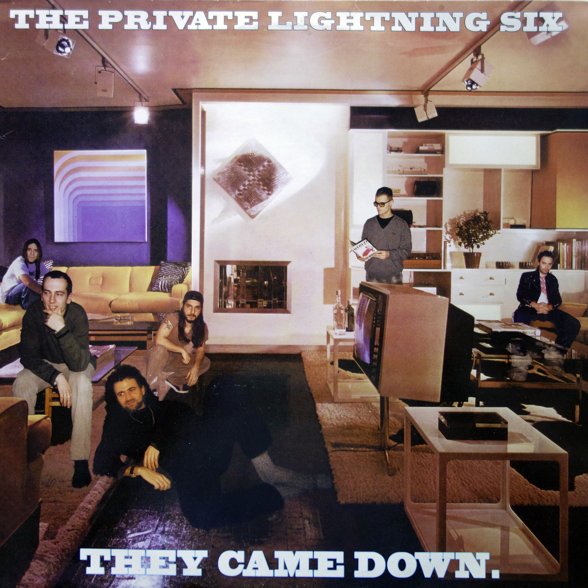 "2x12"" The Private Lightning Six ‎– They Came Down"