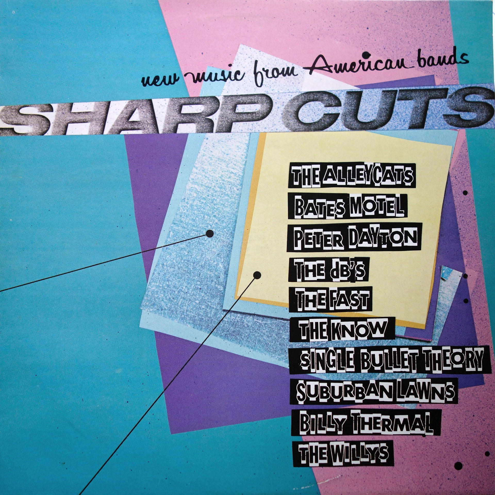 LP Various ‎– Sharp Cuts - New Music From American Bands