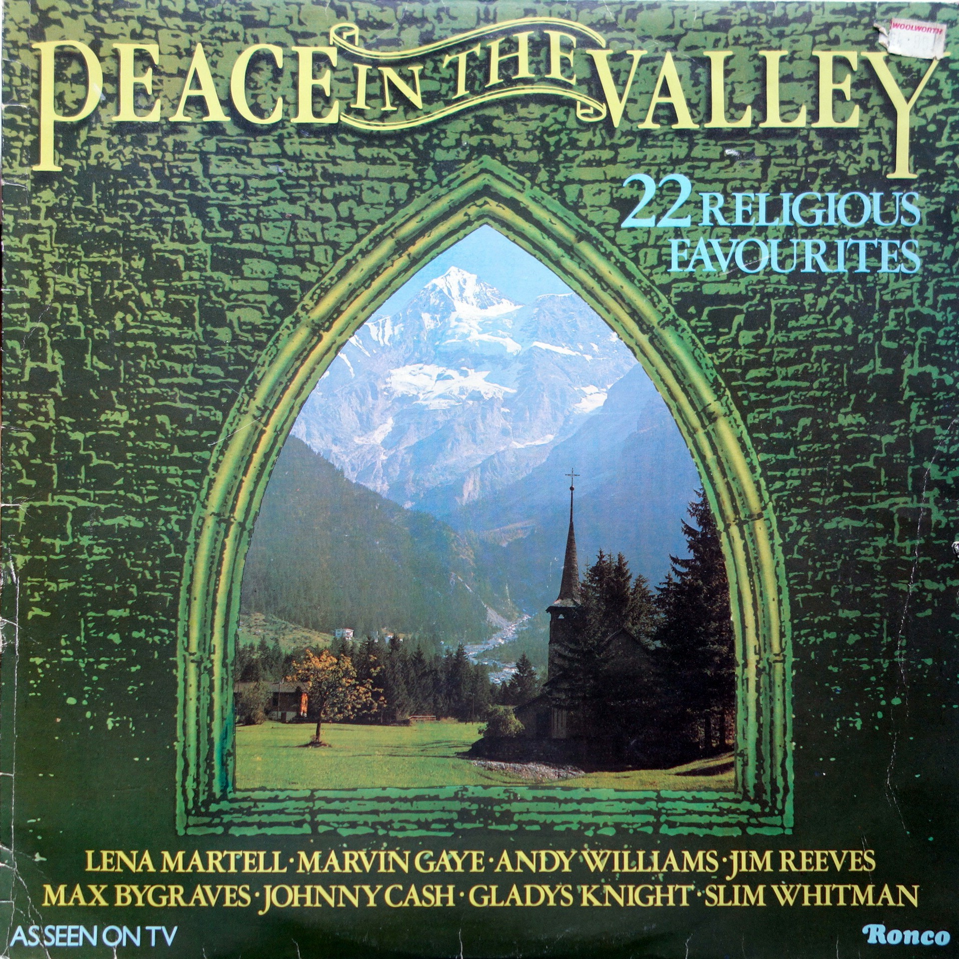 LP Various ‎– Peace In The Valley