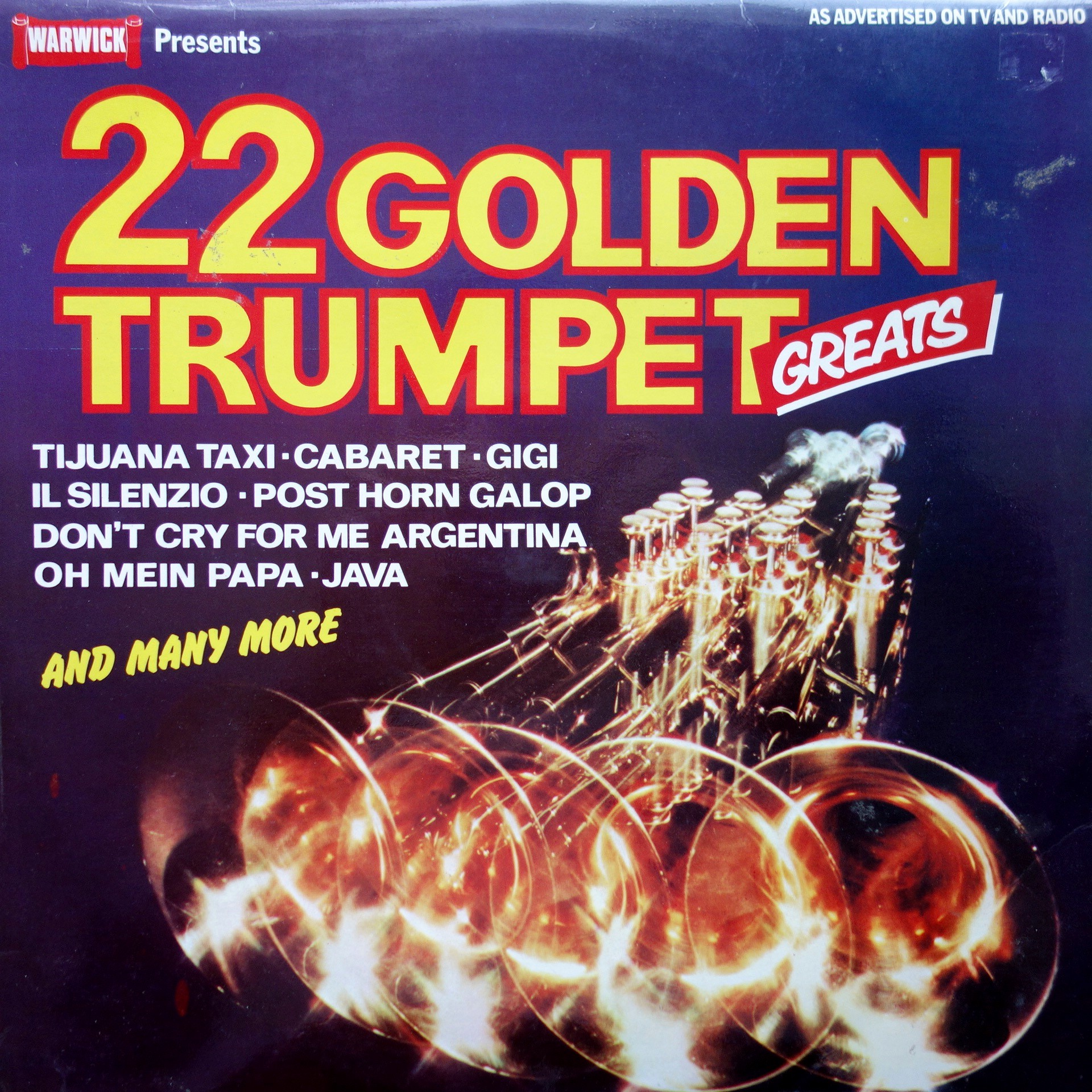LP Various ‎– 22 Golden Trumpet Greats
