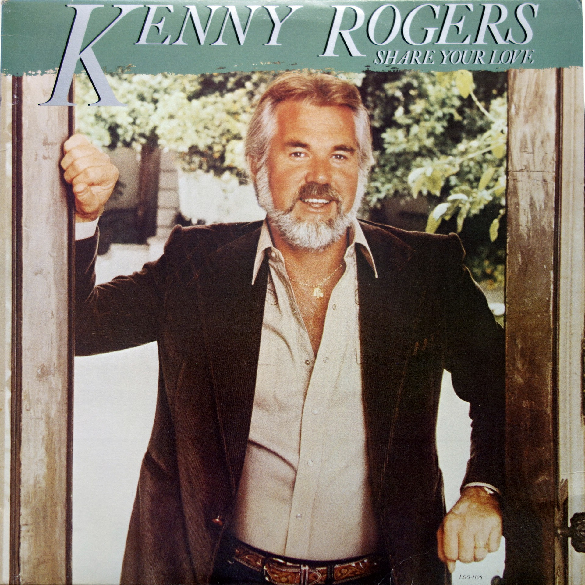 LP Kenny Rogers ‎– Share Your Love