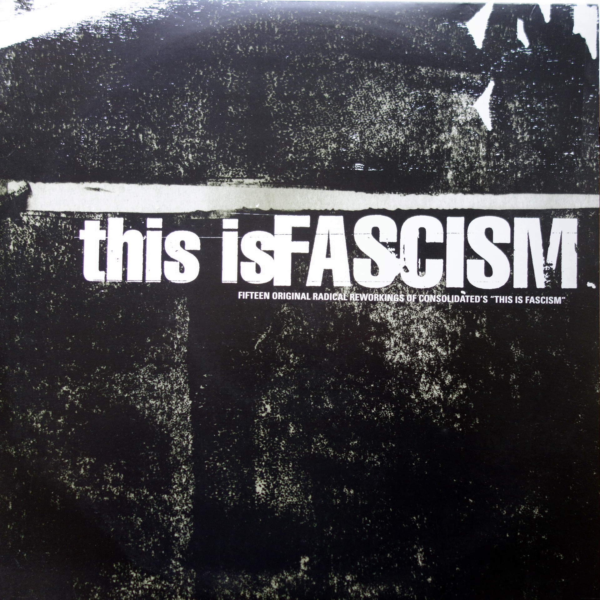 "2x12"" Consolidated ‎– This Is Fascism"