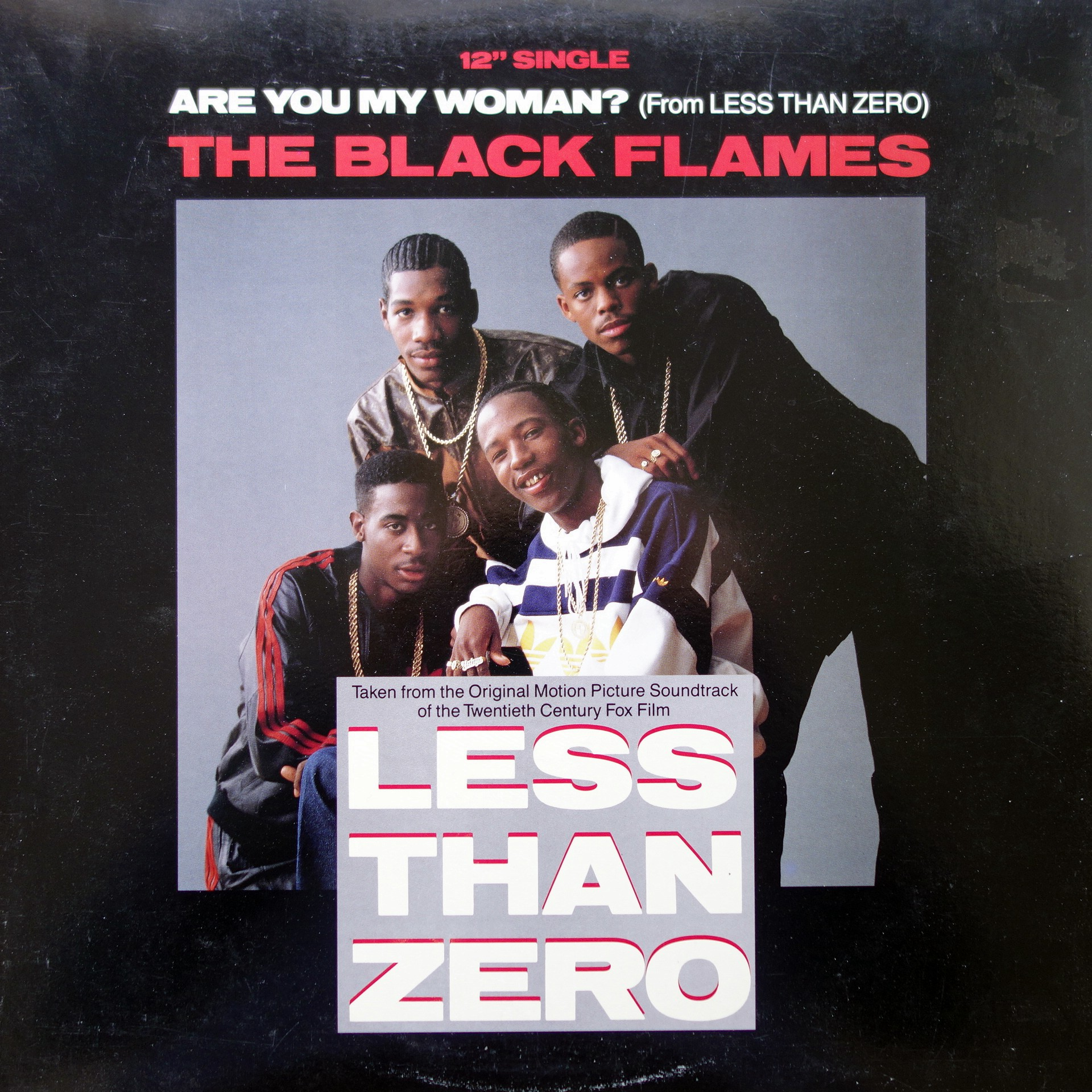 "12"" The Black Flames / Public Enemy ‎– Are You My Woman? / Bring The Noise"