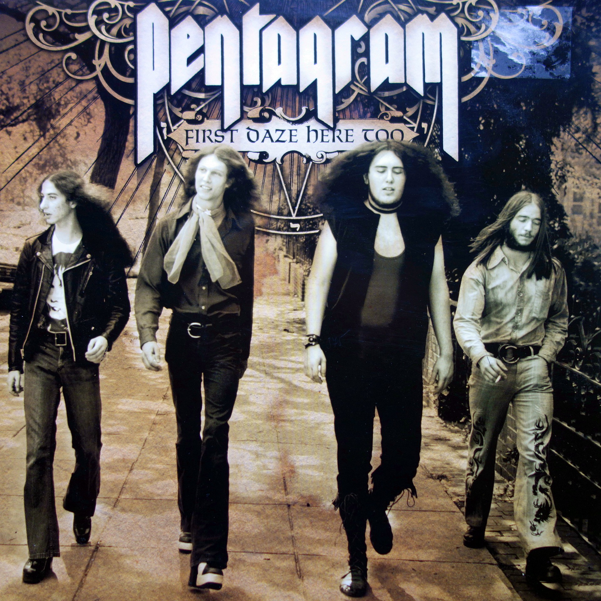 2xLP Pentagram ‎– First Daze Here Too: The Vintage Collection