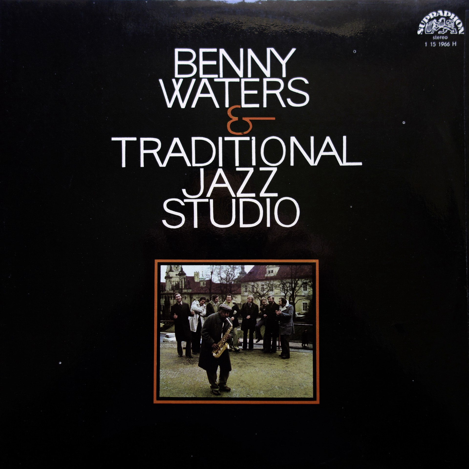 LP Benny Waters & Traditional Jazz Studio