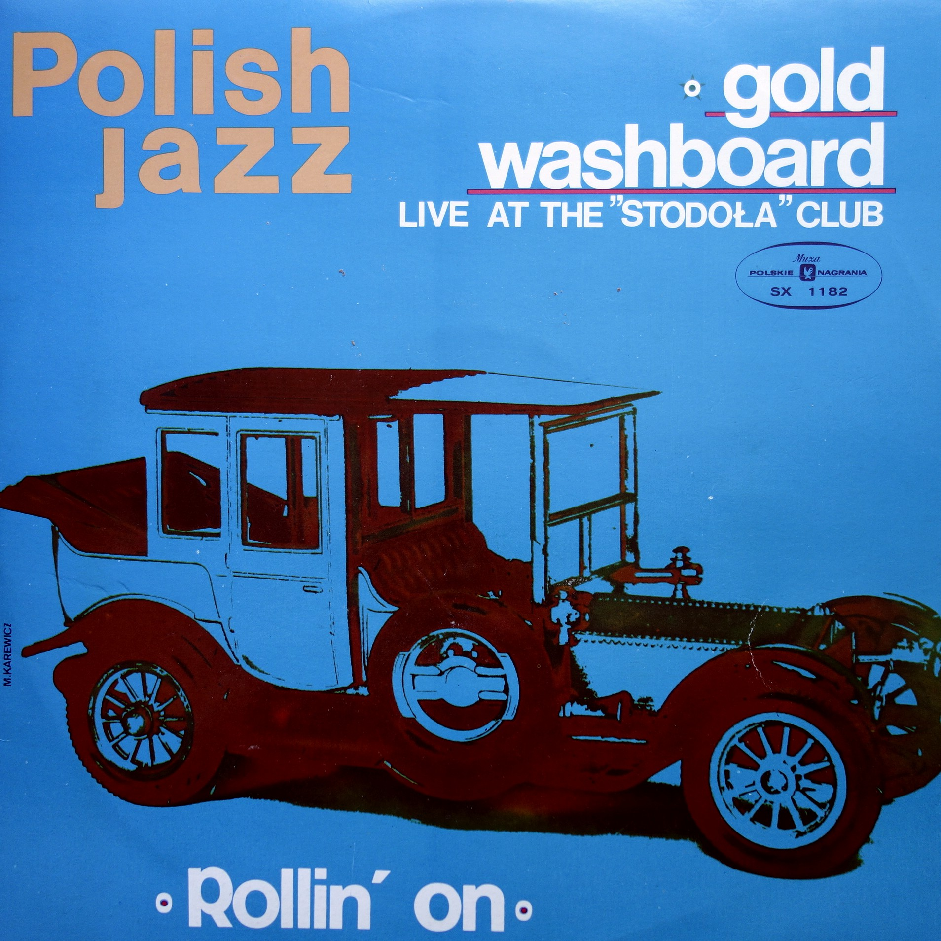 LP Gold Washboard ‎– Live At The Stodoła Club