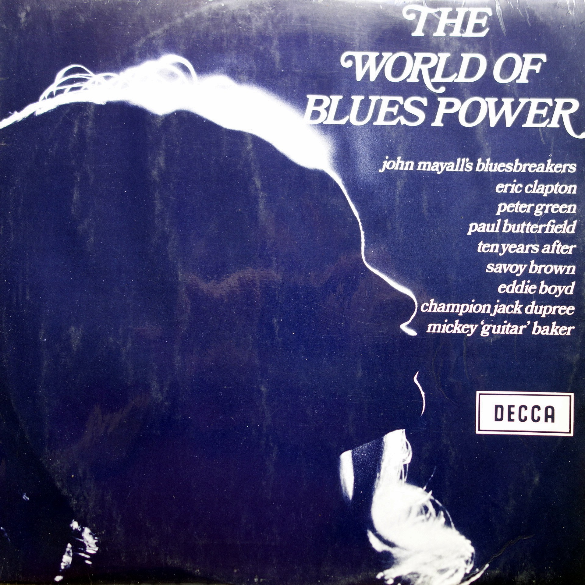LP Various ‎– The World Of Blues Power