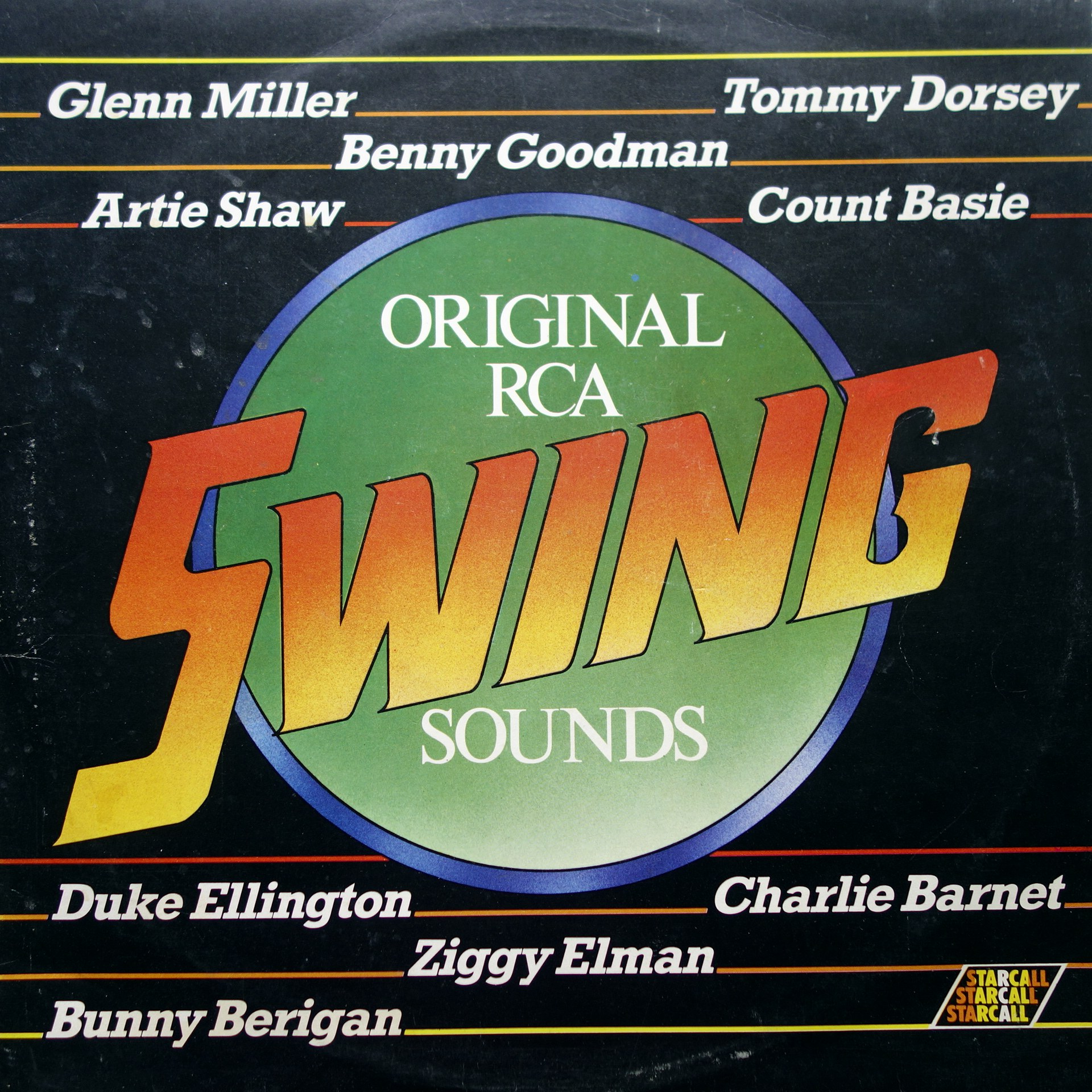 LP Various ‎– Original RCA Swing Sounds