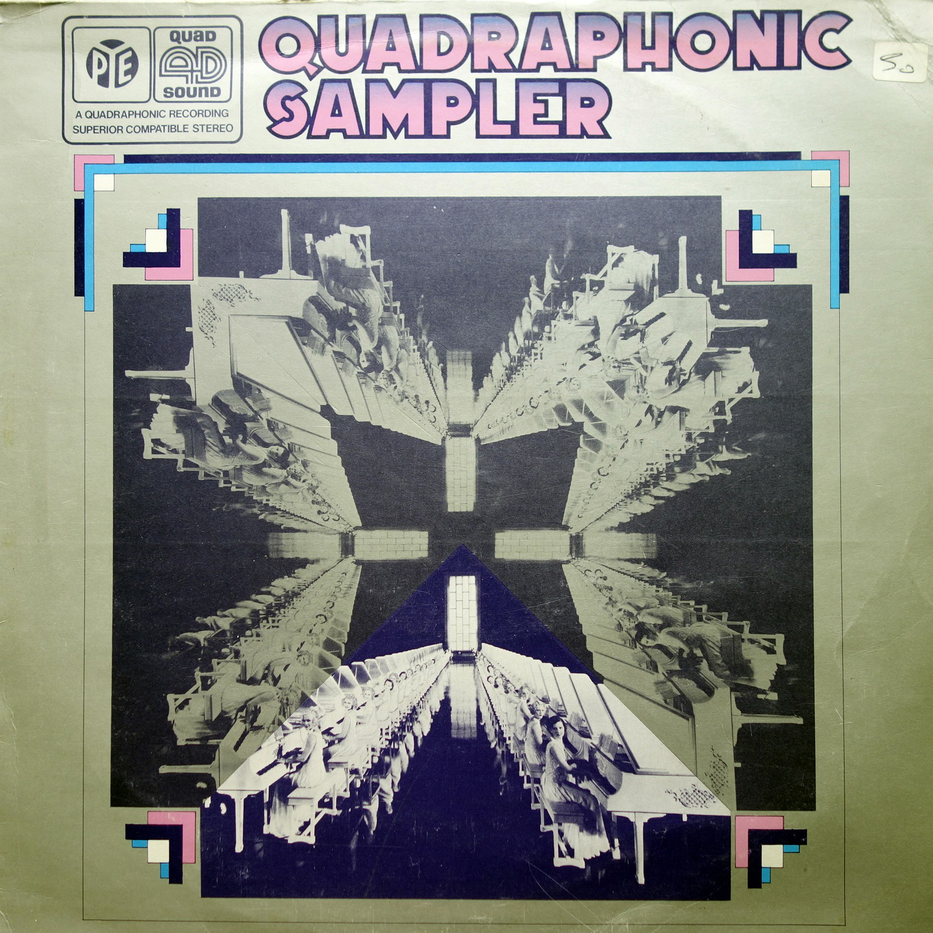 LP Various ‎– Quadraphonic Sampler