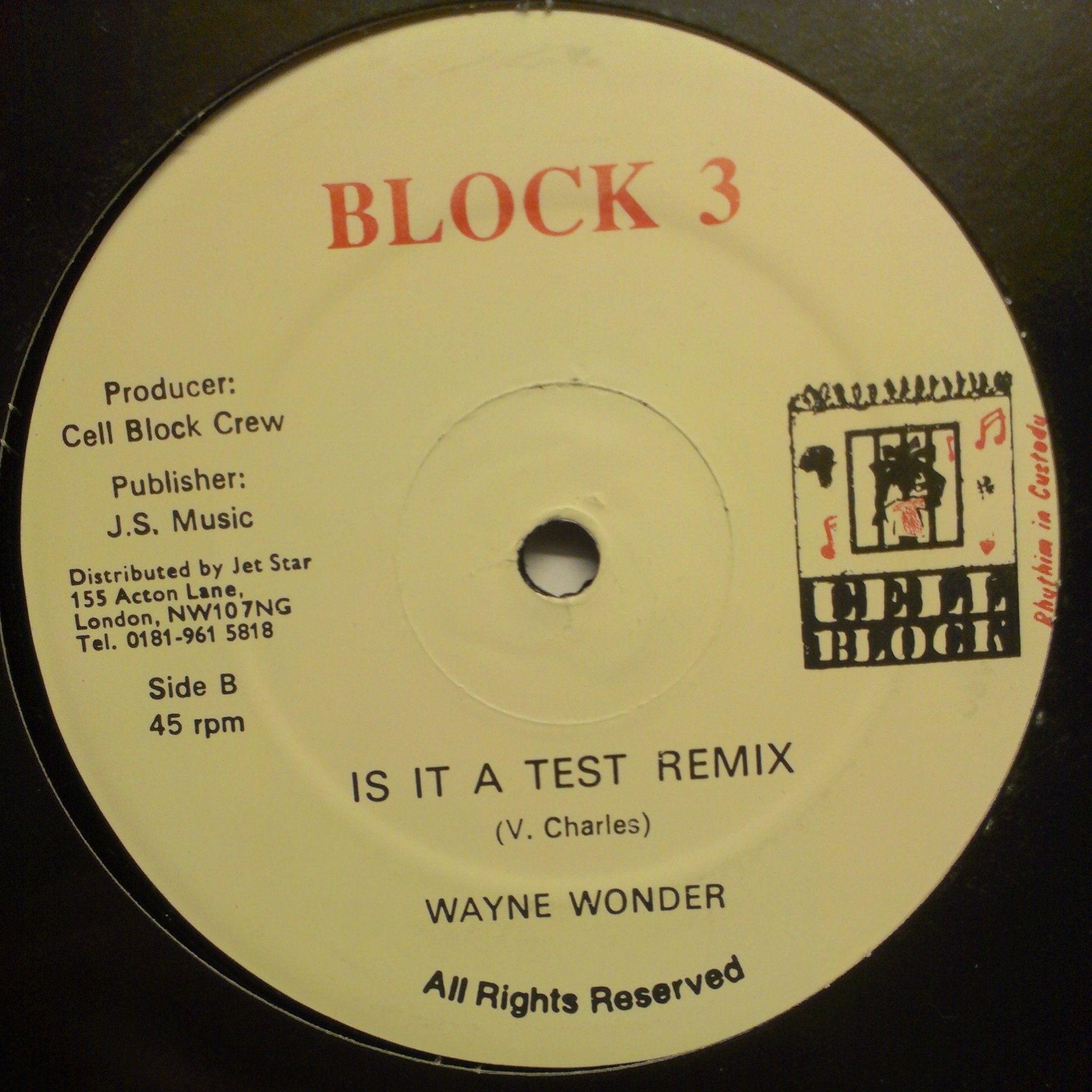 "12"" Block 3 - Is it a test"