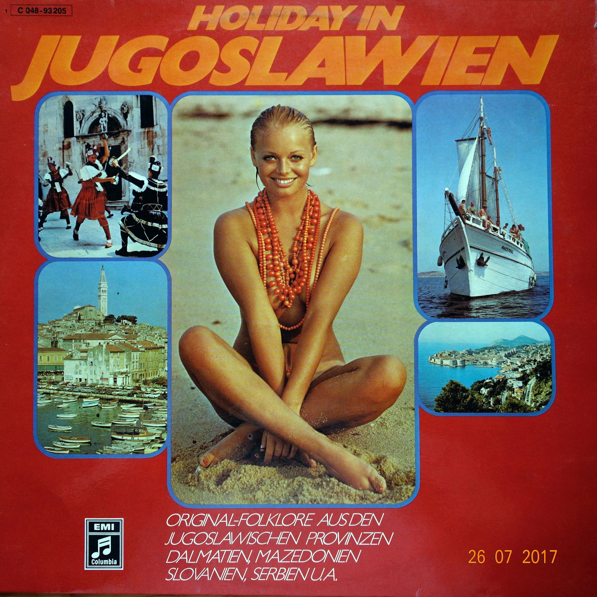 LP Various ‎– Holiday In Jugoslawien
