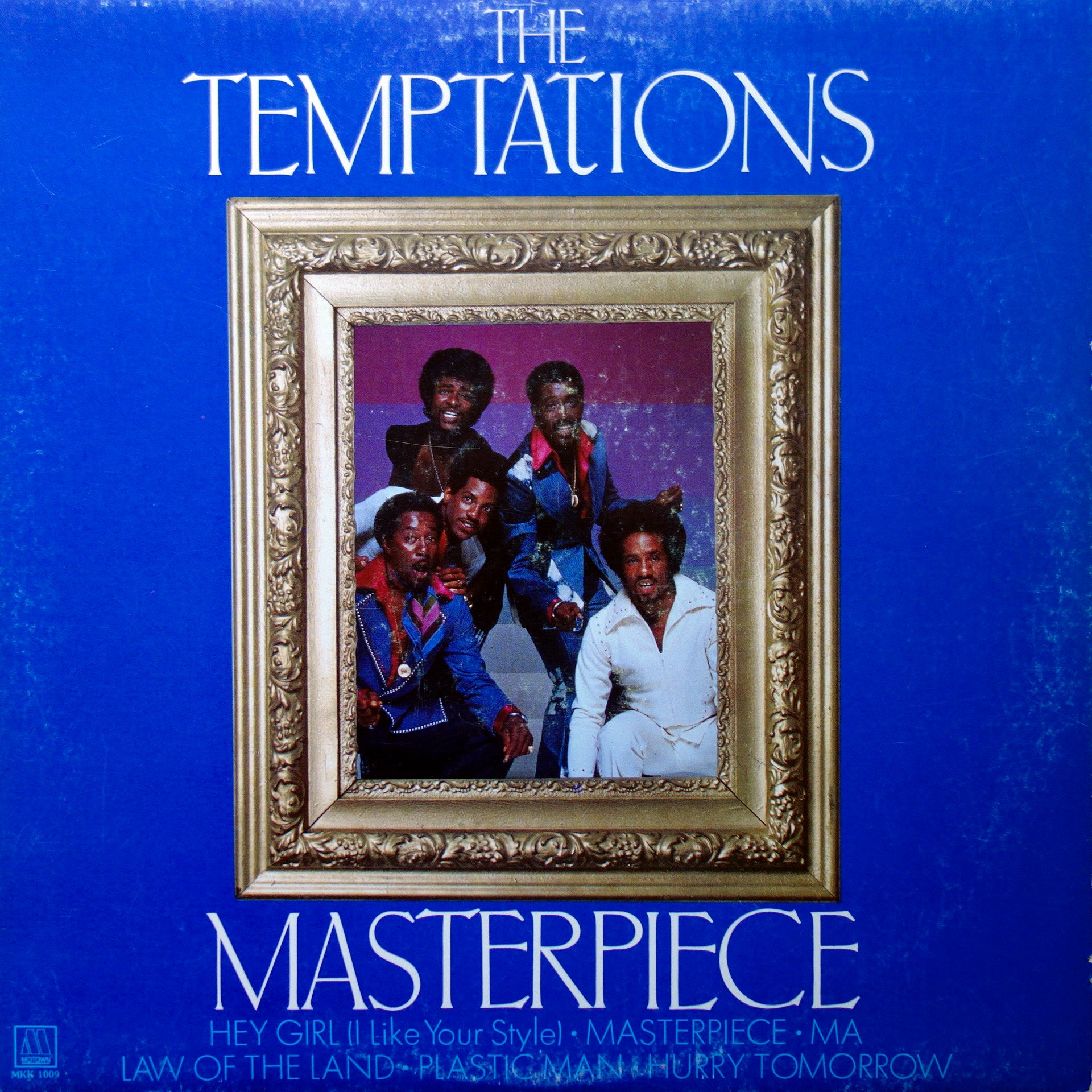 LP The Temptations ‎– Masterpiece