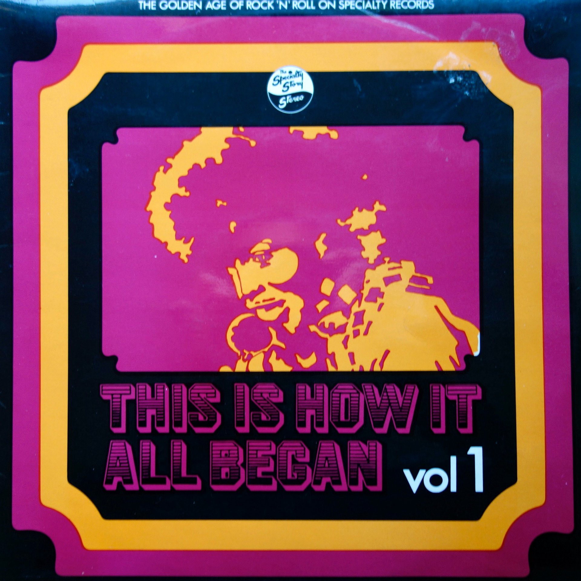 LP Various ‎– This Is How It All Began Vol 1