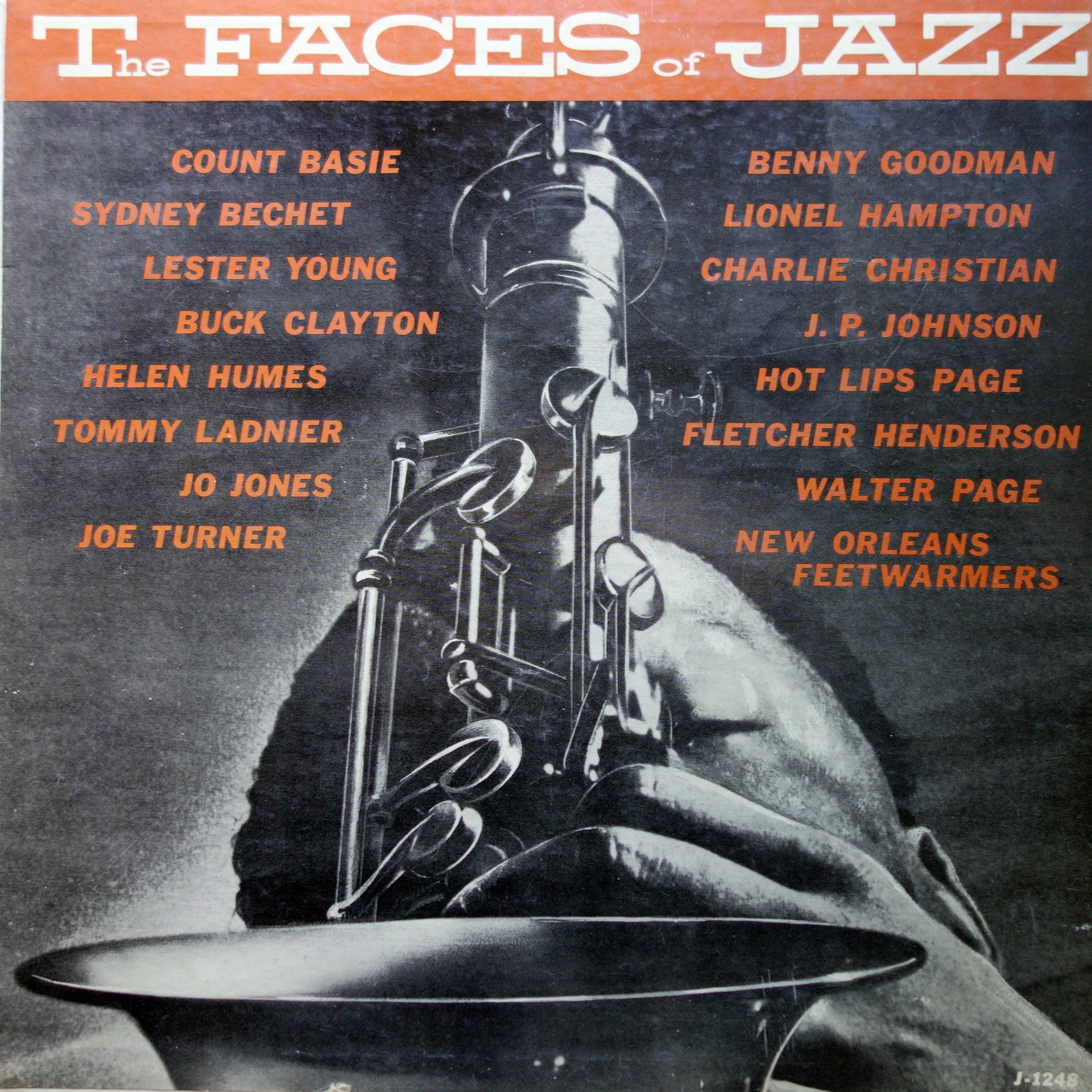LP Various ‎– The Faces Of Jazz