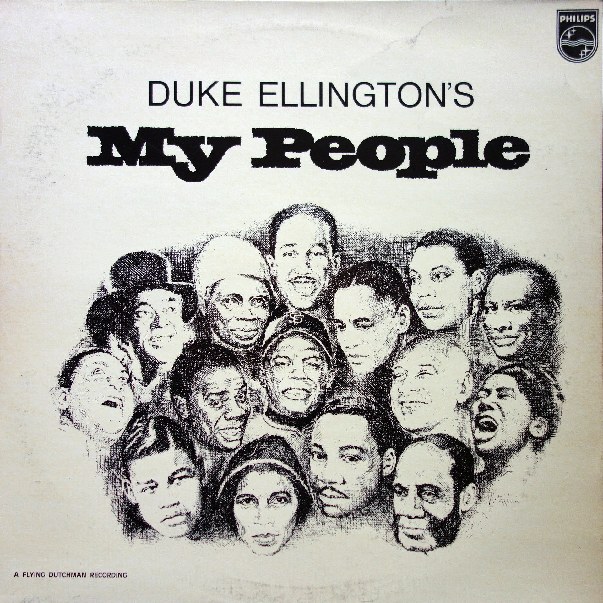 LP Duke Ellington ‎– My People