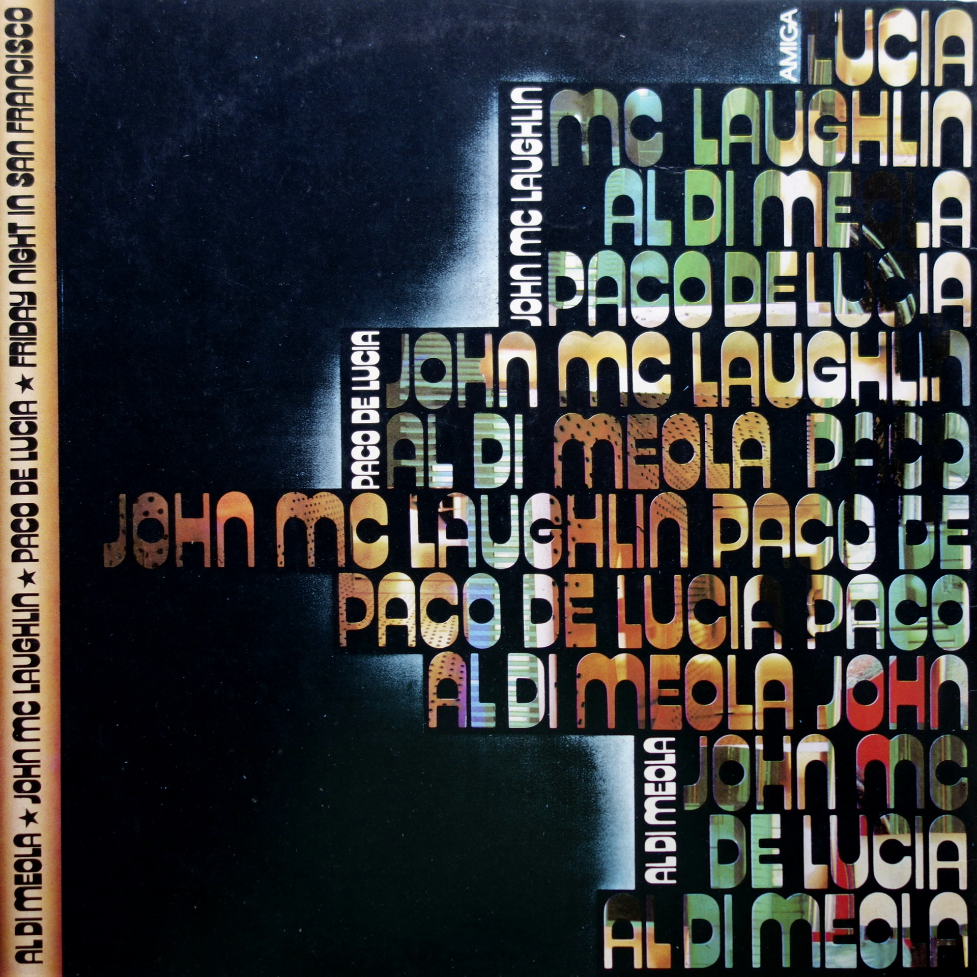 LP Al Di Meola / John McLaughlin / Paco De Lucía ‎– Friday Night In San Francisc