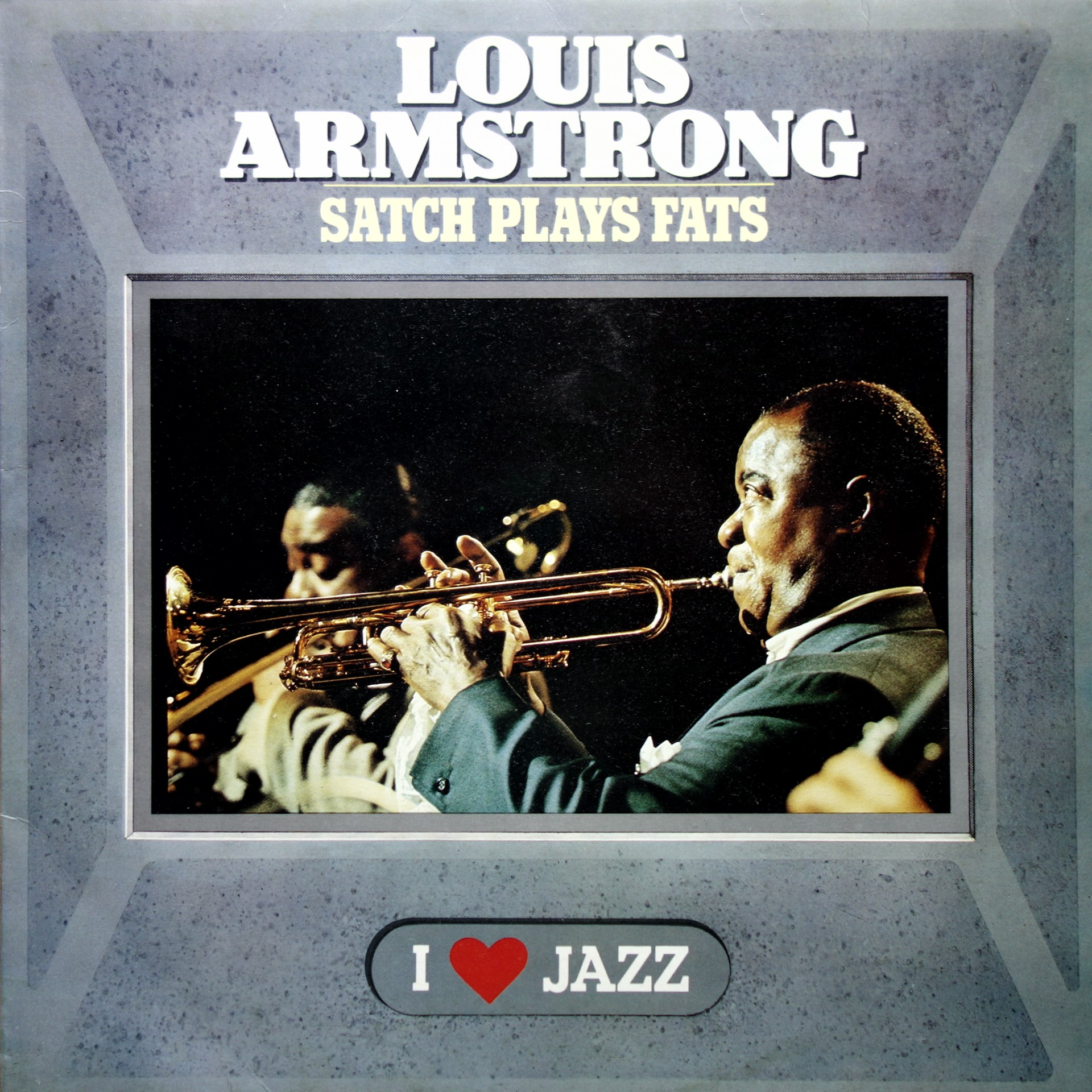 LP Louis Armstrong ‎– Satch Plays Fats