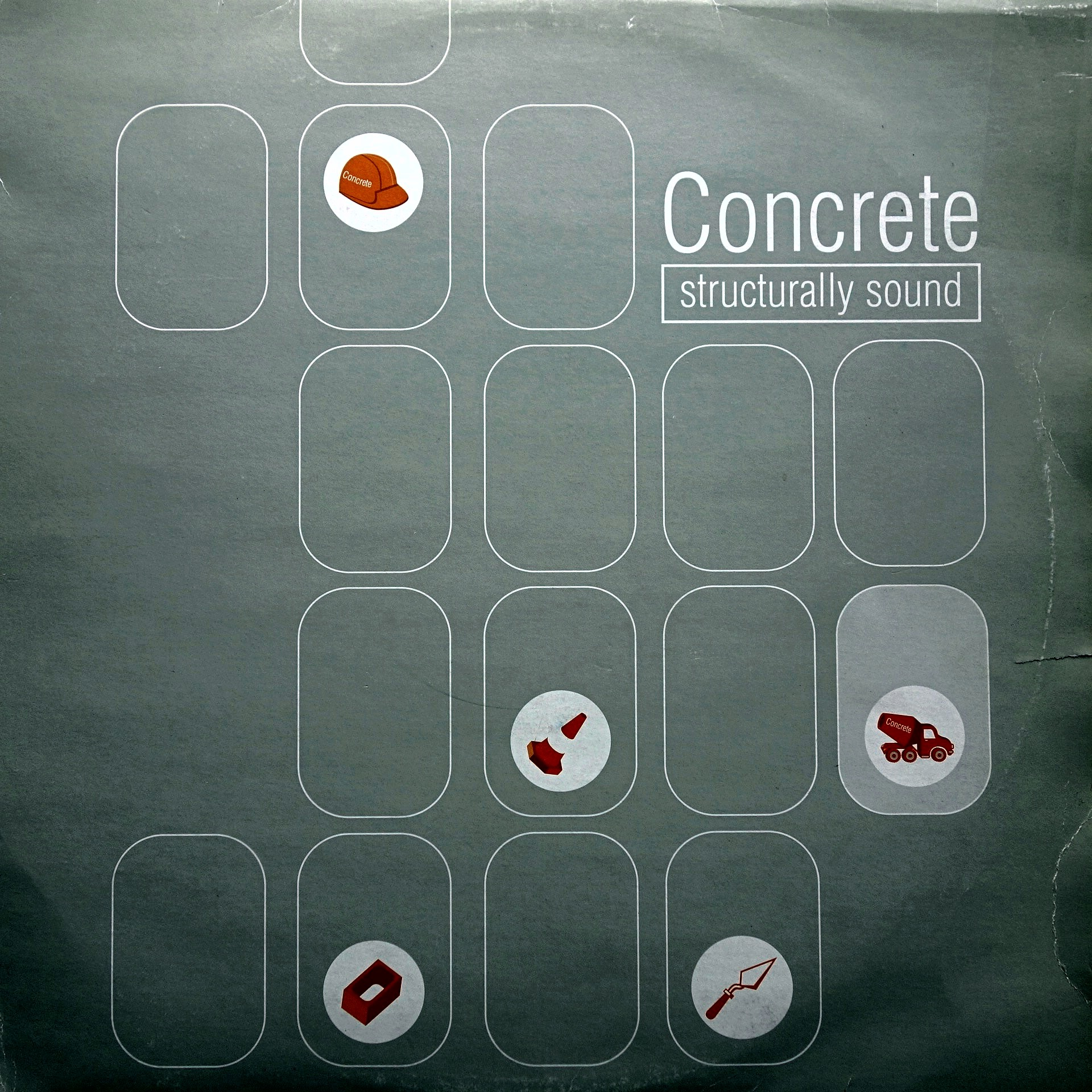 "2x12"" Various ‎– Concrete - Structurally Sound"