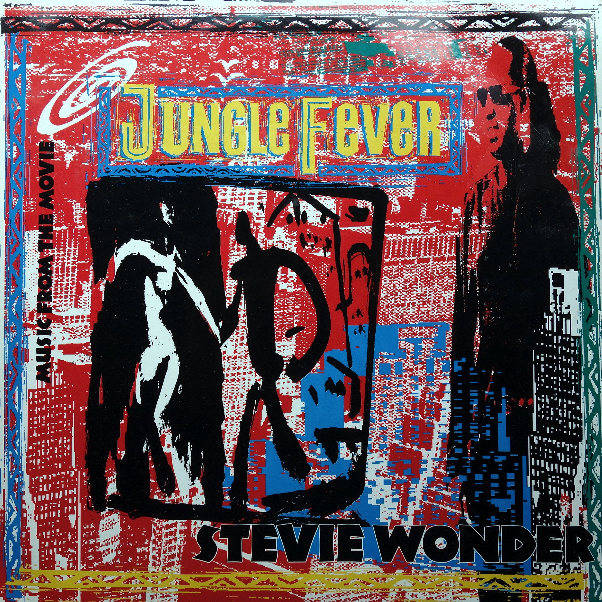 "LP Stevie Wonder ‎– Music From The Movie ""Jungle Fever"""