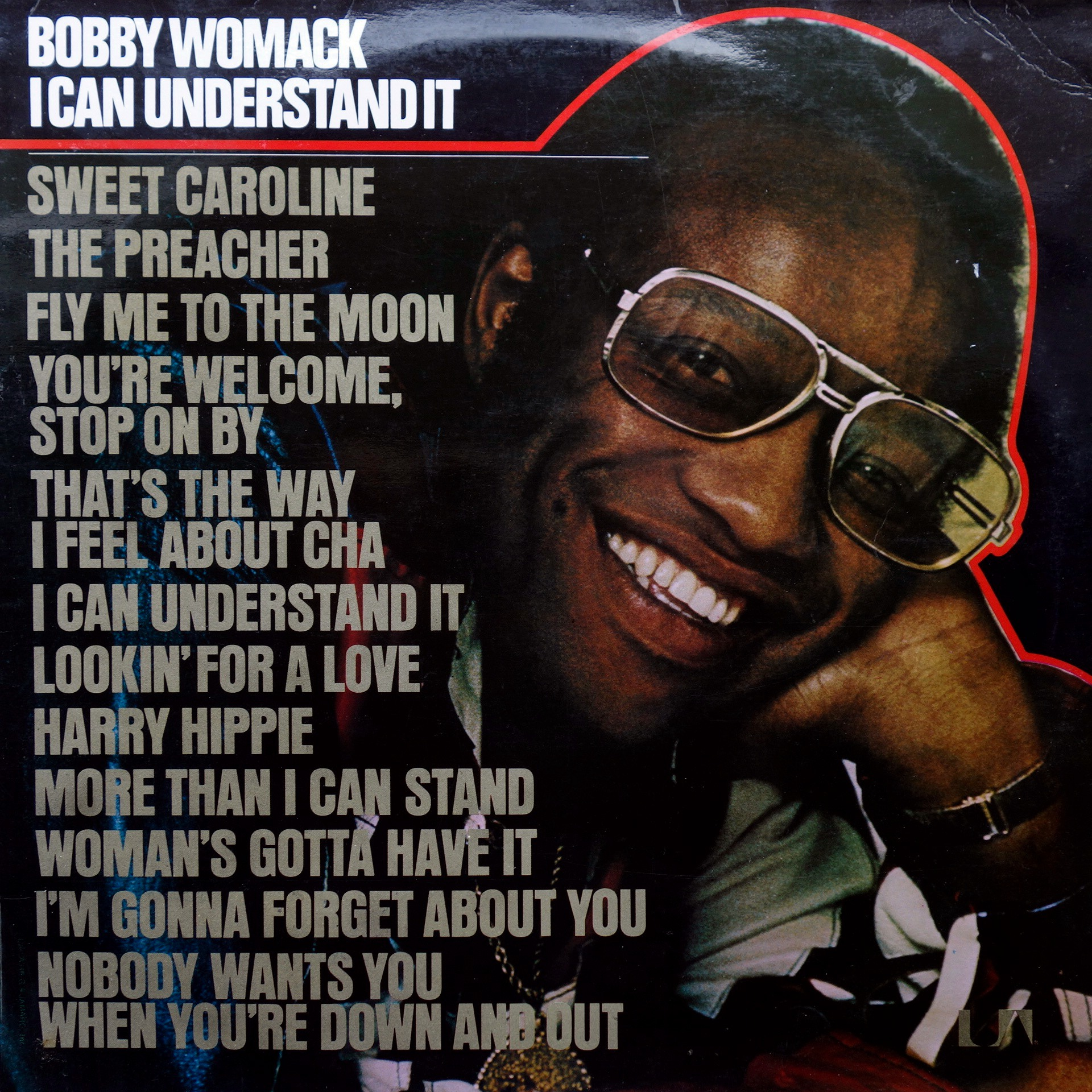 LP Bobby Womack ‎– I Can Understand It