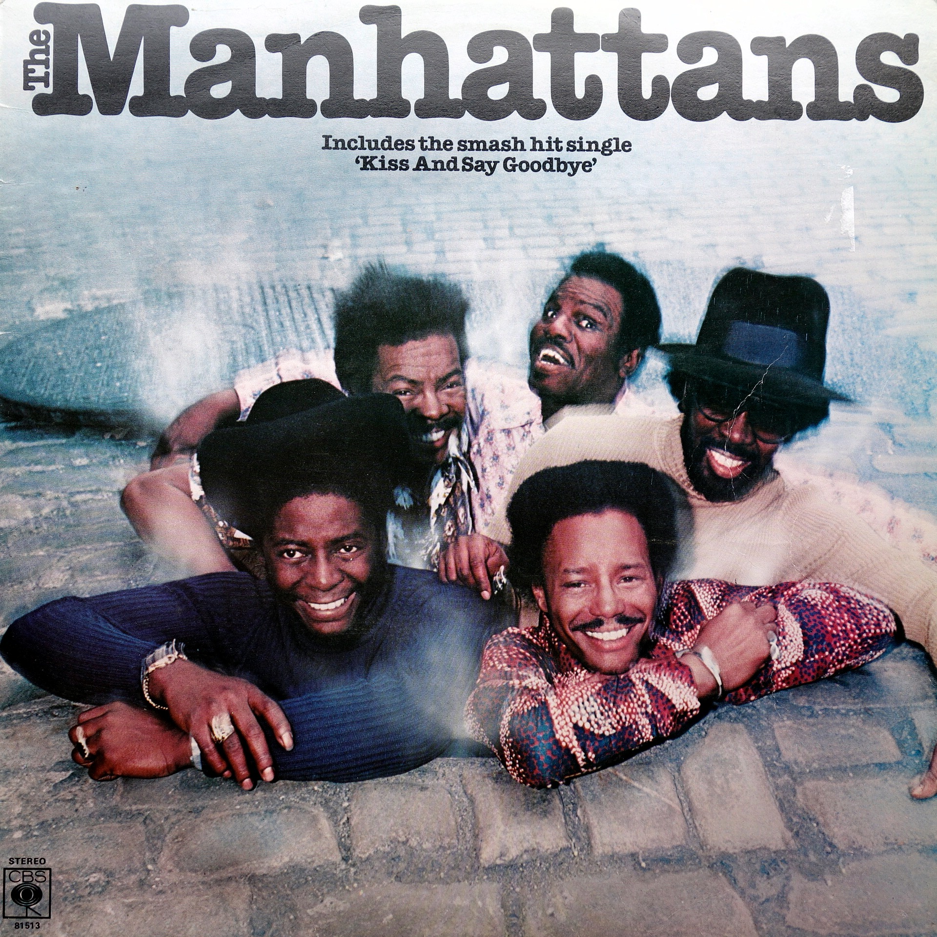 LP The Manhattans ‎– The Manhattans